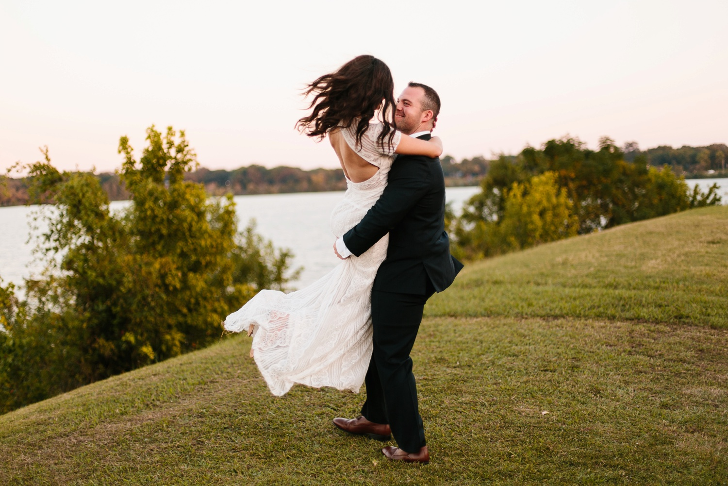 Kadee + Tyler | a raw, emotional wedding at the Filter Building on White Rock Lake in Dallas, TX by North Texas Wedding Photographer, Rachel Meagan Photography 184