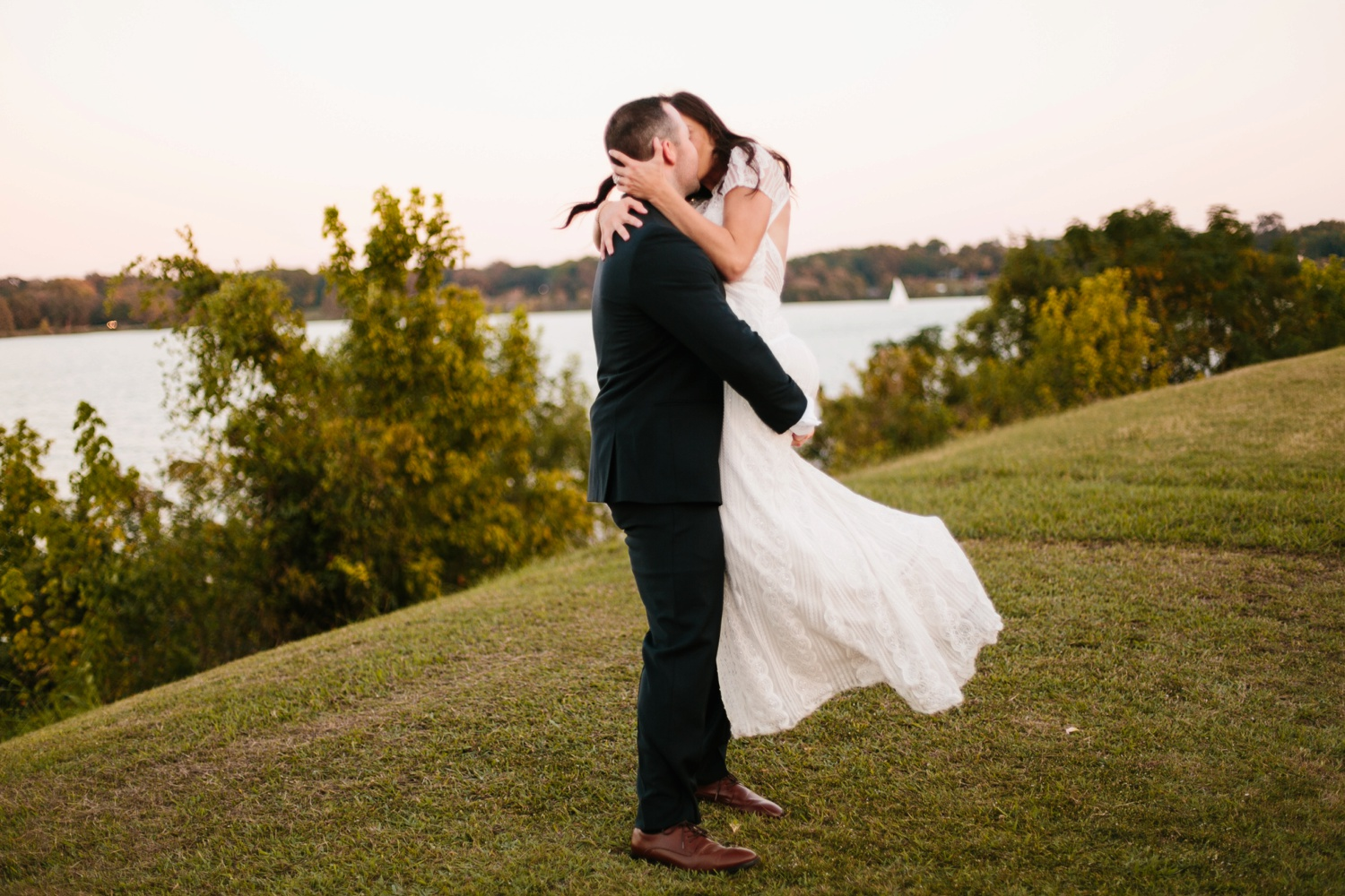Kadee + Tyler | a raw, emotional wedding at the Filter Building on White Rock Lake in Dallas, TX by North Texas Wedding Photographer, Rachel Meagan Photography 185