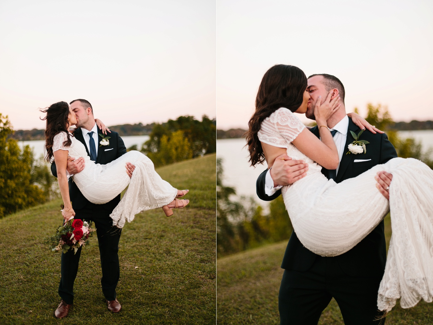 Kadee + Tyler | a raw, emotional wedding at the Filter Building on White Rock Lake in Dallas, TX by North Texas Wedding Photographer, Rachel Meagan Photography 187