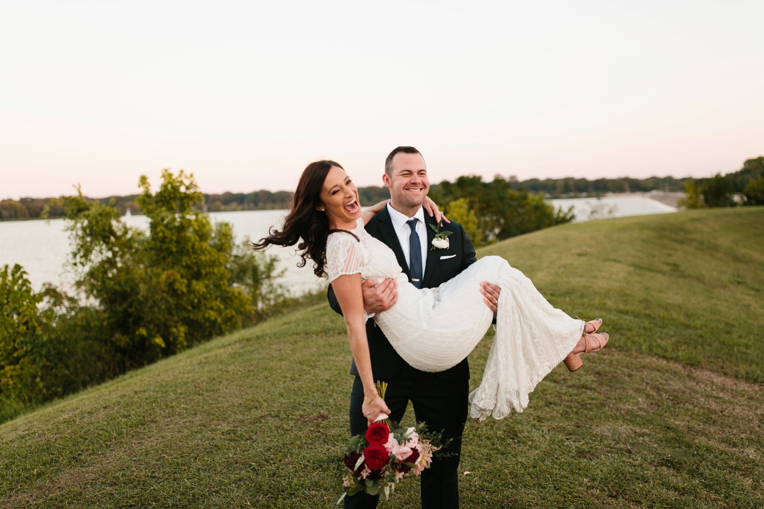 Kadee + Tyler | a raw, emotional wedding at the Filter Building on White Rock Lake in Dallas, TX by North Texas Wedding Photographer, Rachel Meagan Photography 188