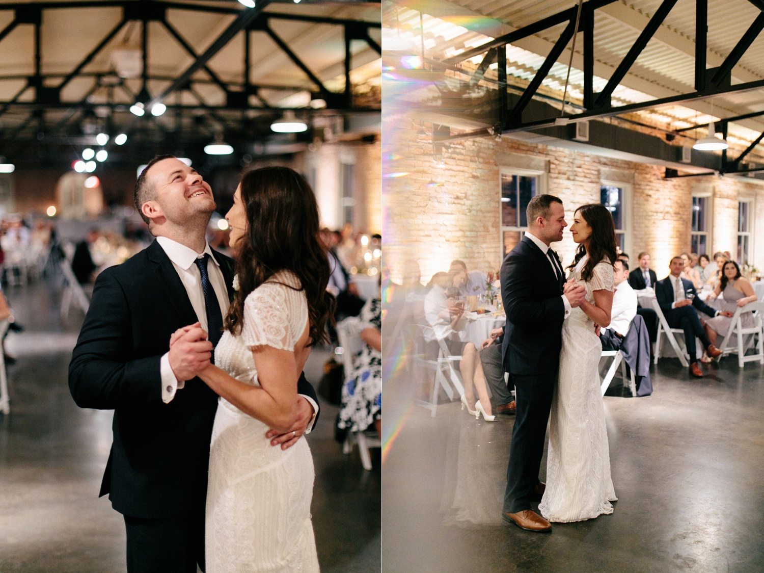 Kadee + Tyler | a raw, emotional wedding at the Filter Building on White Rock Lake in Dallas, TX by North Texas Wedding Photographer, Rachel Meagan Photography 195