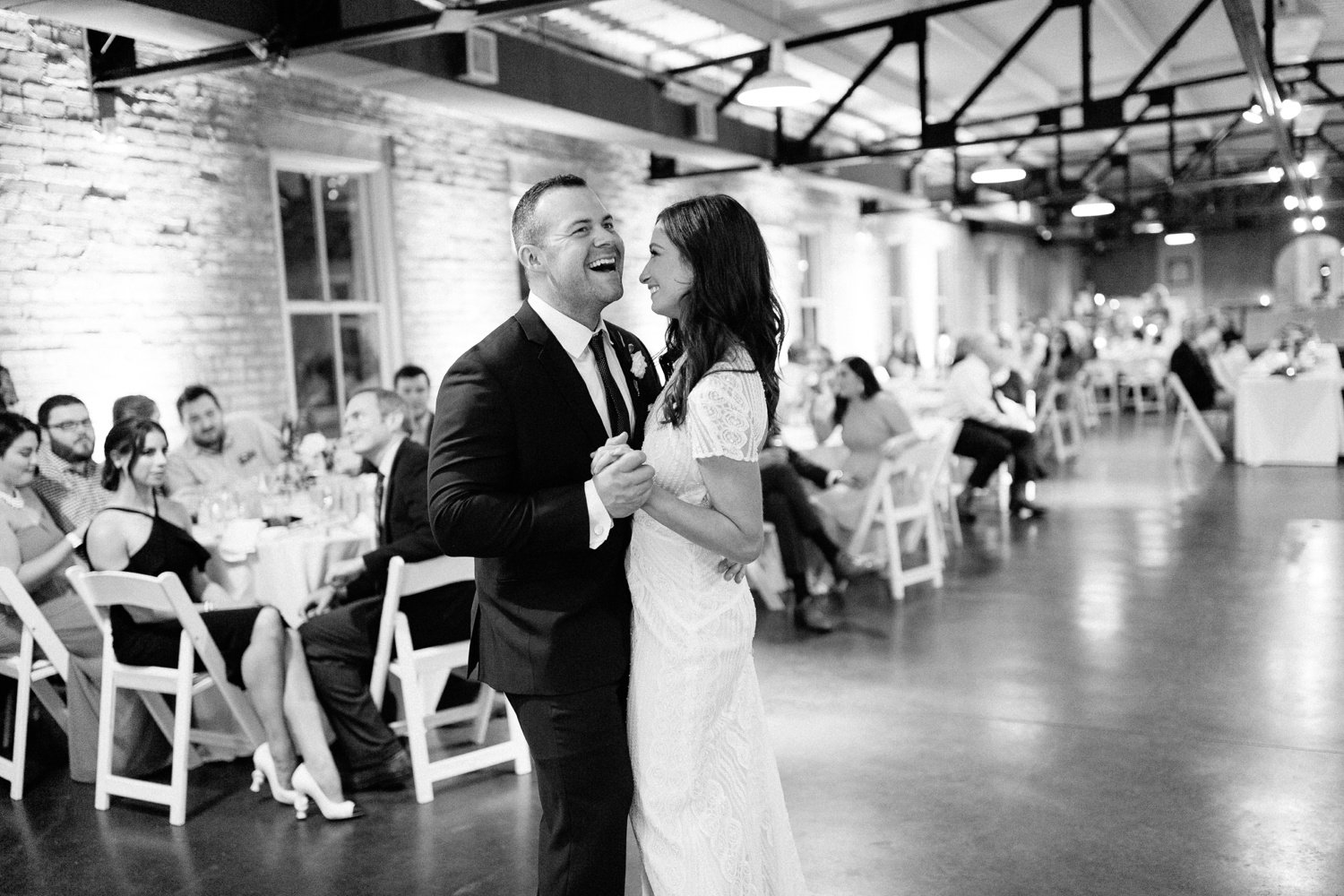 Kadee + Tyler | a raw, emotional wedding at the Filter Building on White Rock Lake in Dallas, TX by North Texas Wedding Photographer, Rachel Meagan Photography 196