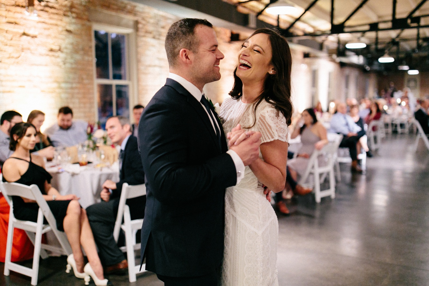 Kadee + Tyler | a raw, emotional wedding at the Filter Building on White Rock Lake in Dallas, TX by North Texas Wedding Photographer, Rachel Meagan Photography 200
