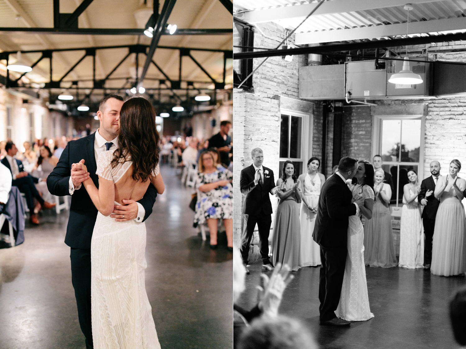 Kadee + Tyler | a raw, emotional wedding at the Filter Building on White Rock Lake in Dallas, TX by North Texas Wedding Photographer, Rachel Meagan Photography 201