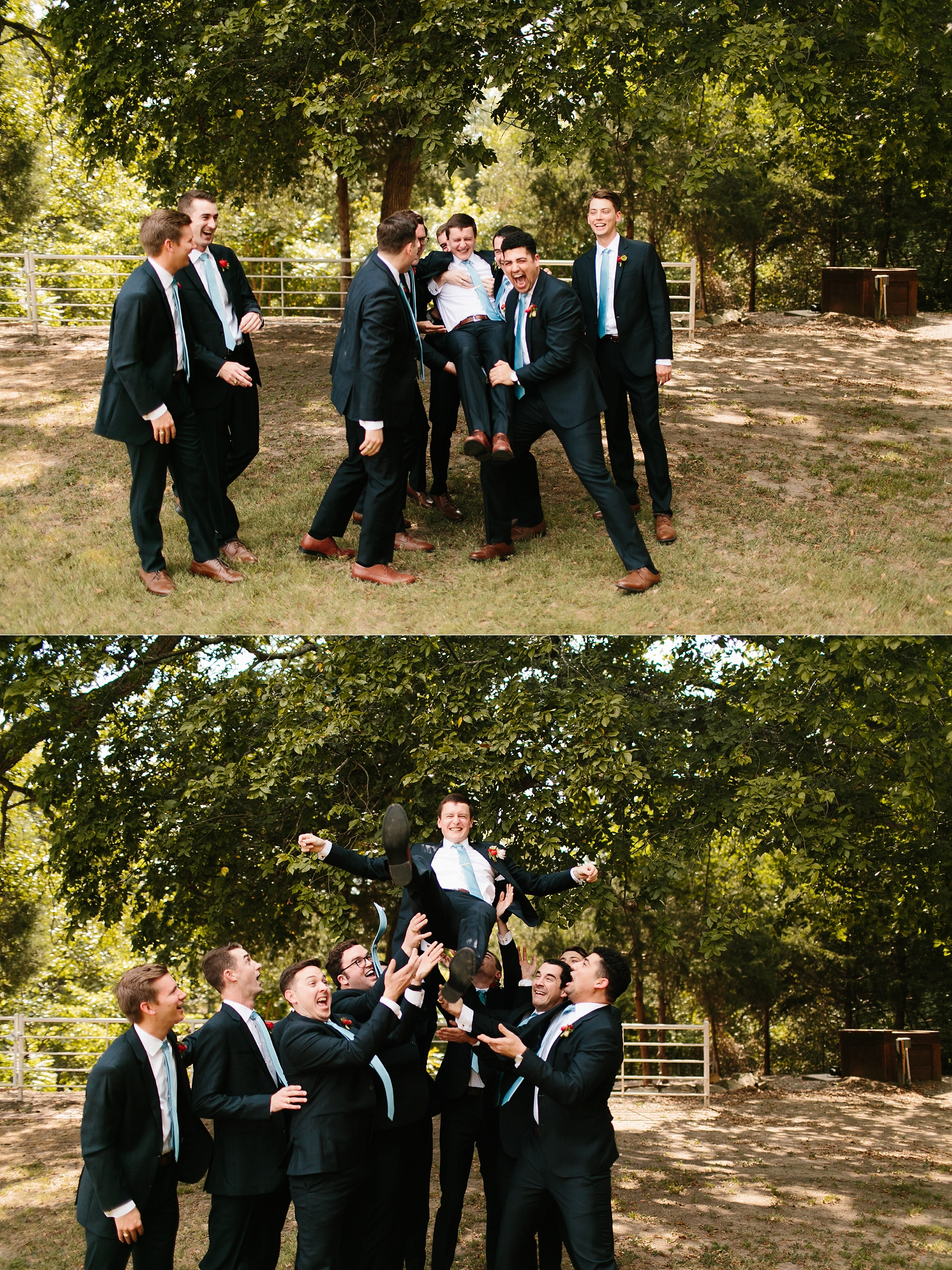 Lauren + Nathan _ a vibrant, wedding with a Navy, Red, and Duck Egg Blue Pallete at Firefly Gardens by North Texas Wedding Photographer Rachel Meagan Photography _ 023