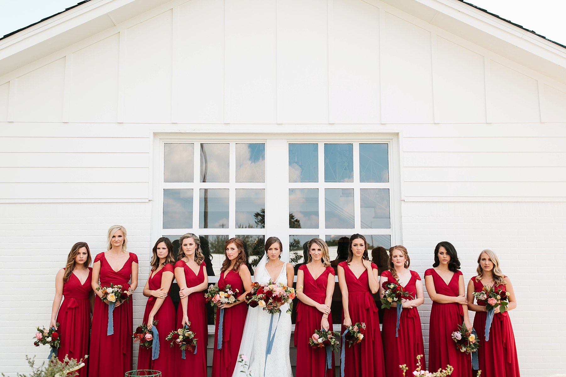 Lauren + Nathan _ a vibrant, wedding with a Navy, Red, and Duck Egg Blue Pallete at Firefly Gardens by North Texas Wedding Photographer Rachel Meagan Photography _ 029