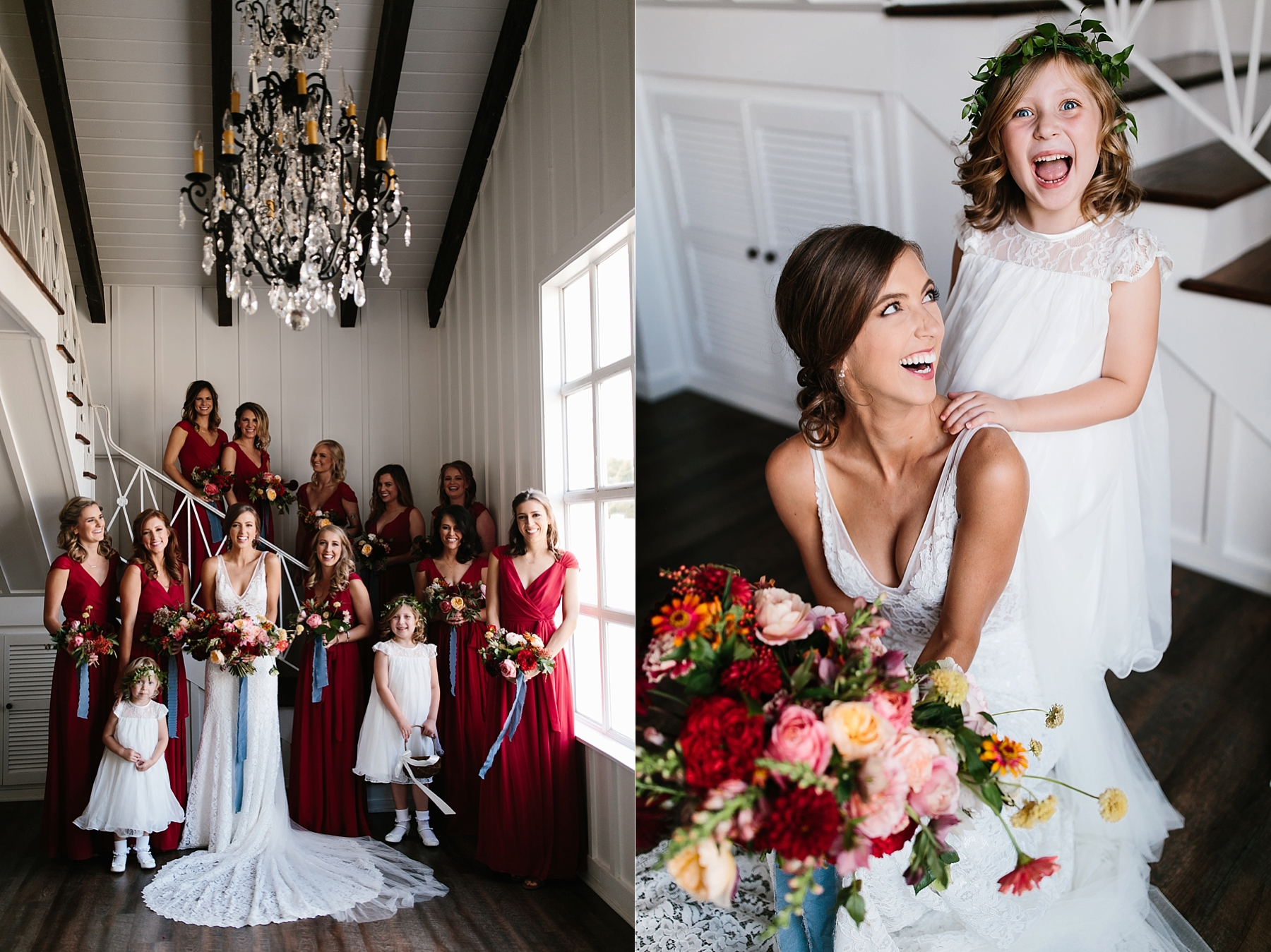 Lauren + Nathan _ a vibrant, wedding with a Navy, Red, and Duck Egg Blue Pallete at Firefly Gardens by North Texas Wedding Photographer Rachel Meagan Photography _ 033