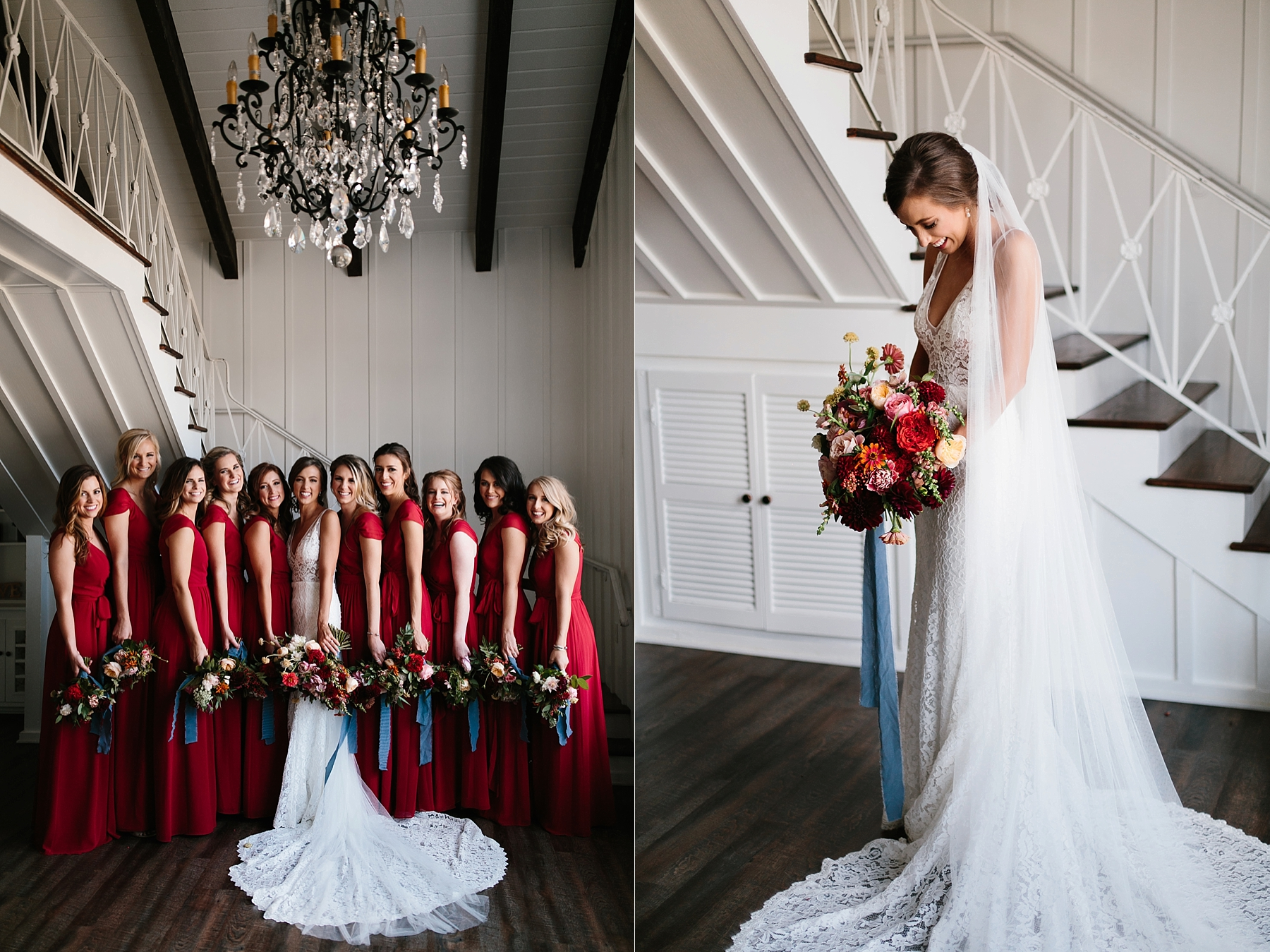 Lauren + Nathan _ a vibrant, wedding with a Navy, Red, and Duck Egg Blue Pallete at Firefly Gardens by North Texas Wedding Photographer Rachel Meagan Photography _ 036