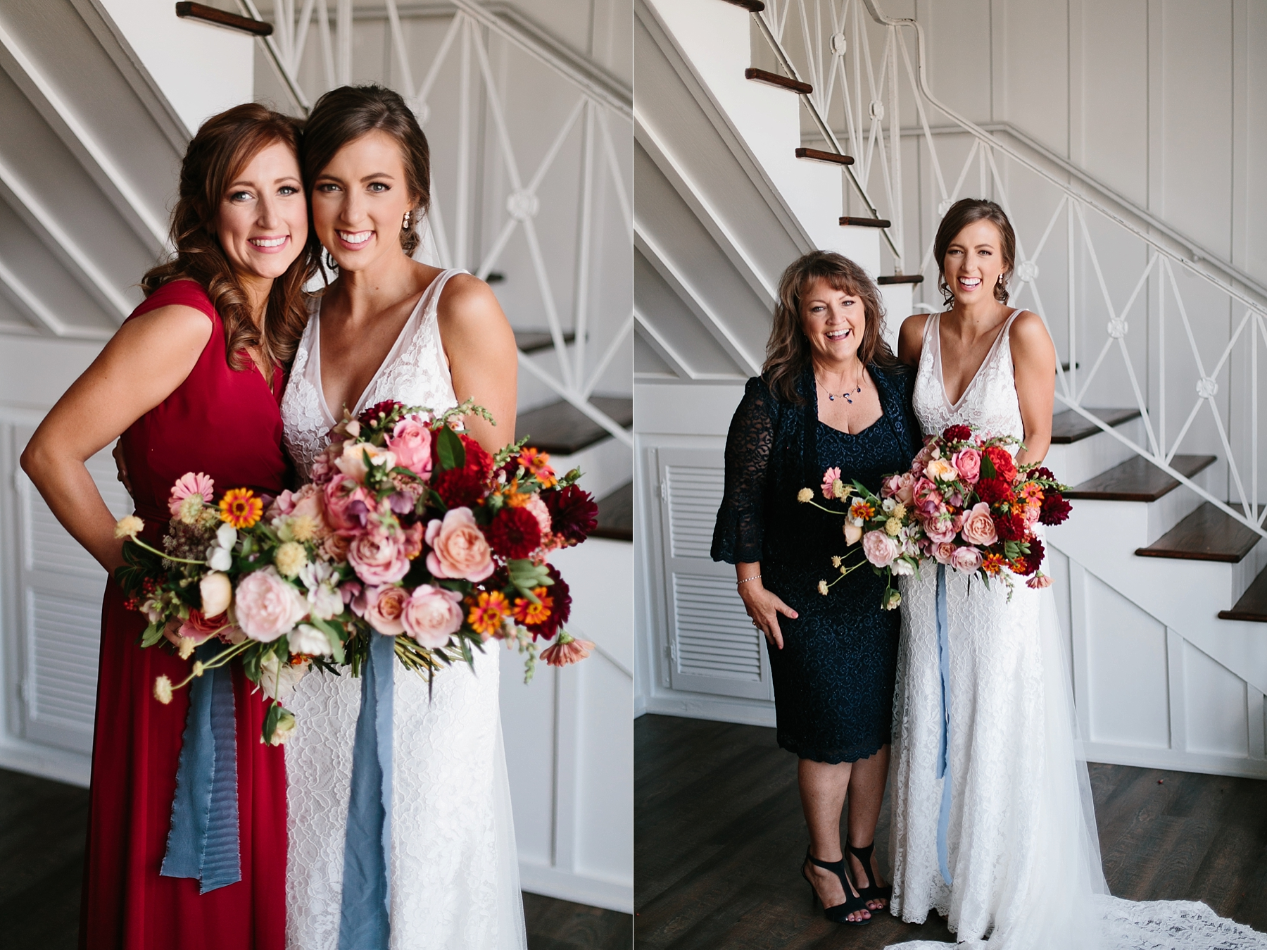 Lauren + Nathan _ a vibrant, wedding with a Navy, Red, and Duck Egg Blue Pallete at Firefly Gardens by North Texas Wedding Photographer Rachel Meagan Photography _ 037