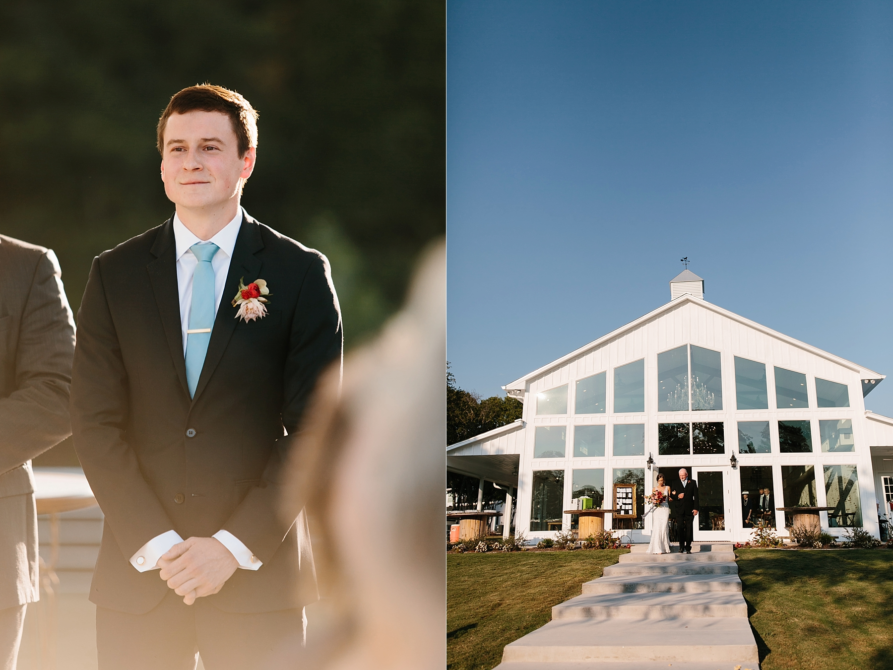 Lauren + Nathan _ a vibrant, wedding with a Navy, Red, and Duck Egg Blue Pallete at Firefly Gardens by North Texas Wedding Photographer Rachel Meagan Photography _ 067