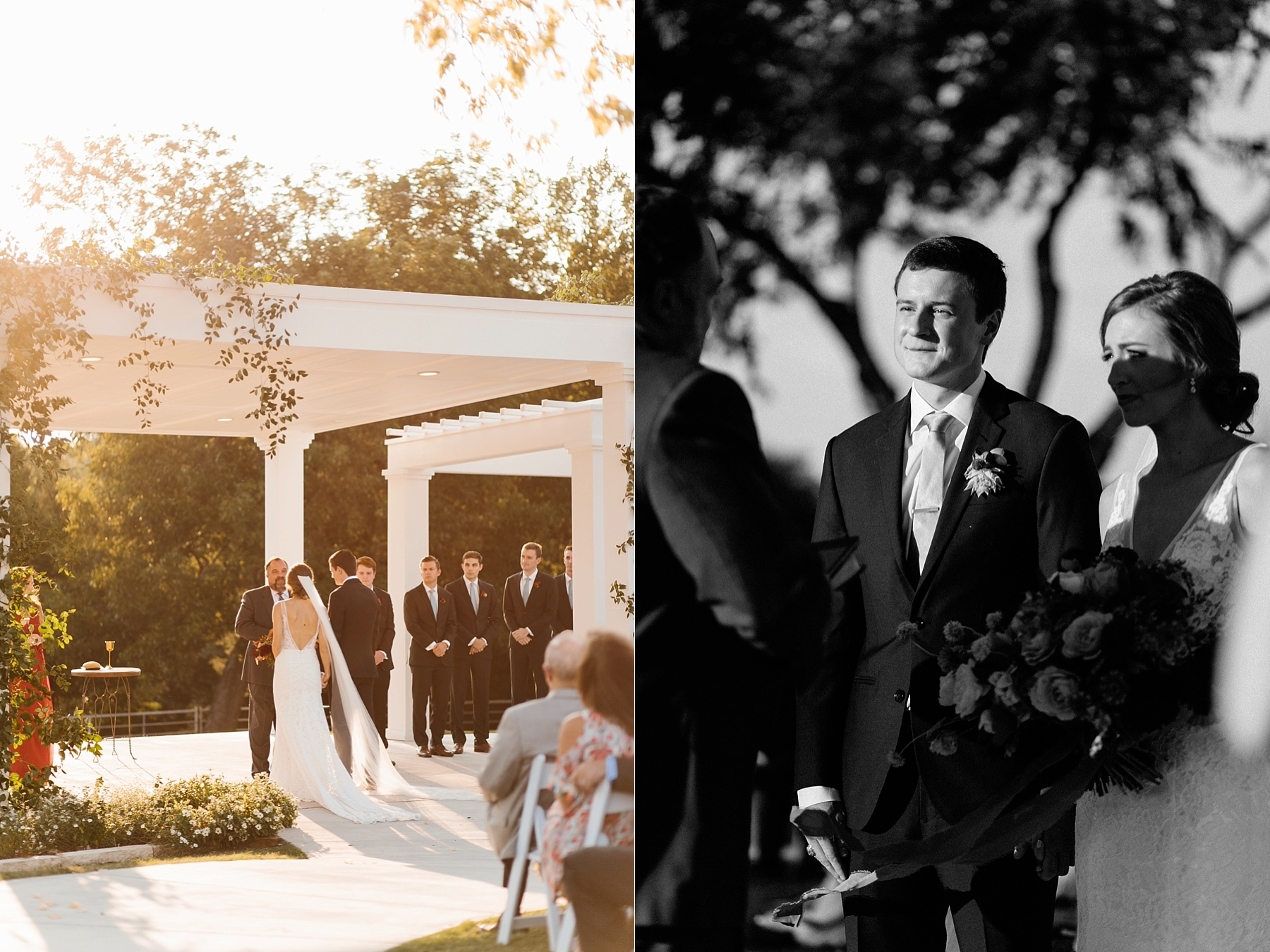Lauren + Nathan _ a vibrant, wedding with a Navy, Red, and Duck Egg Blue Pallete at Firefly Gardens by North Texas Wedding Photographer Rachel Meagan Photography _ 076