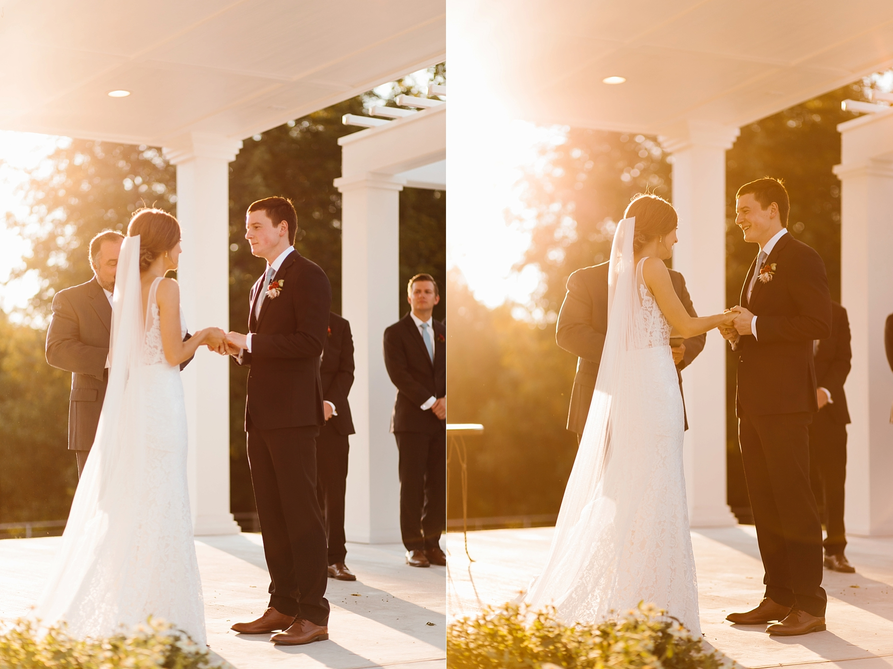 Lauren + Nathan _ a vibrant, wedding with a Navy, Red, and Duck Egg Blue Pallete at Firefly Gardens by North Texas Wedding Photographer Rachel Meagan Photography _ 088