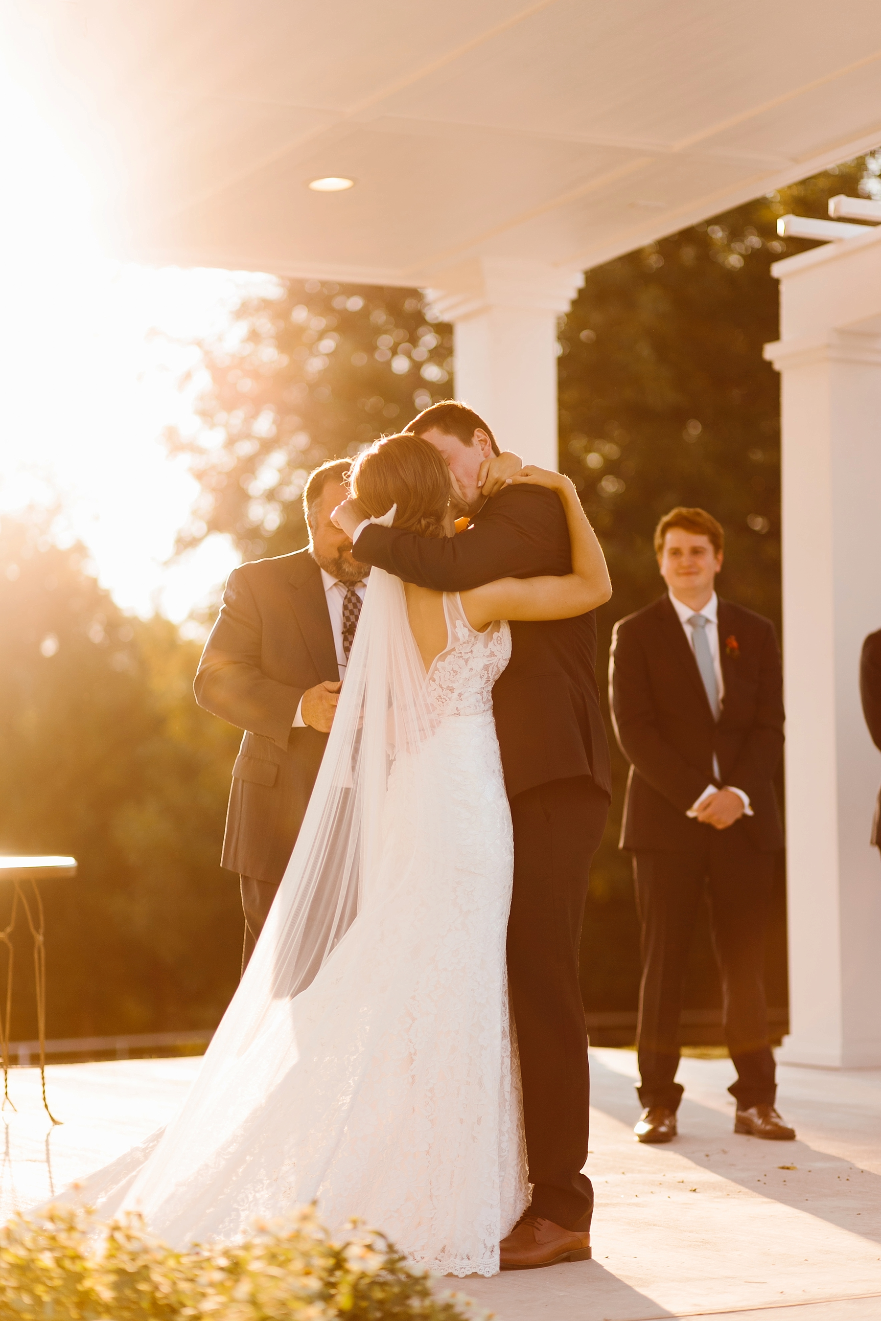 Lauren + Nathan _ a vibrant, wedding with a Navy, Red, and Duck Egg Blue Pallete at Firefly Gardens by North Texas Wedding Photographer Rachel Meagan Photography _ 090