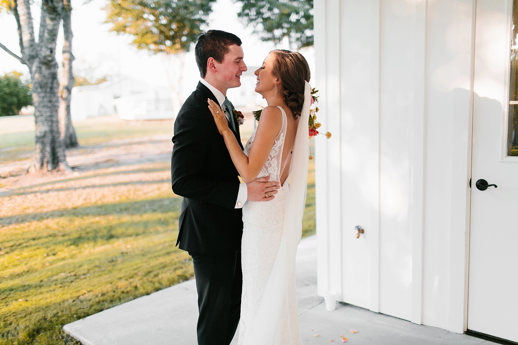 Lauren + Nathan _ a vibrant, wedding with a Navy, Red, and Duck Egg Blue Pallete at Firefly Gardens by North Texas Wedding Photographer Rachel Meagan Photography _ 095