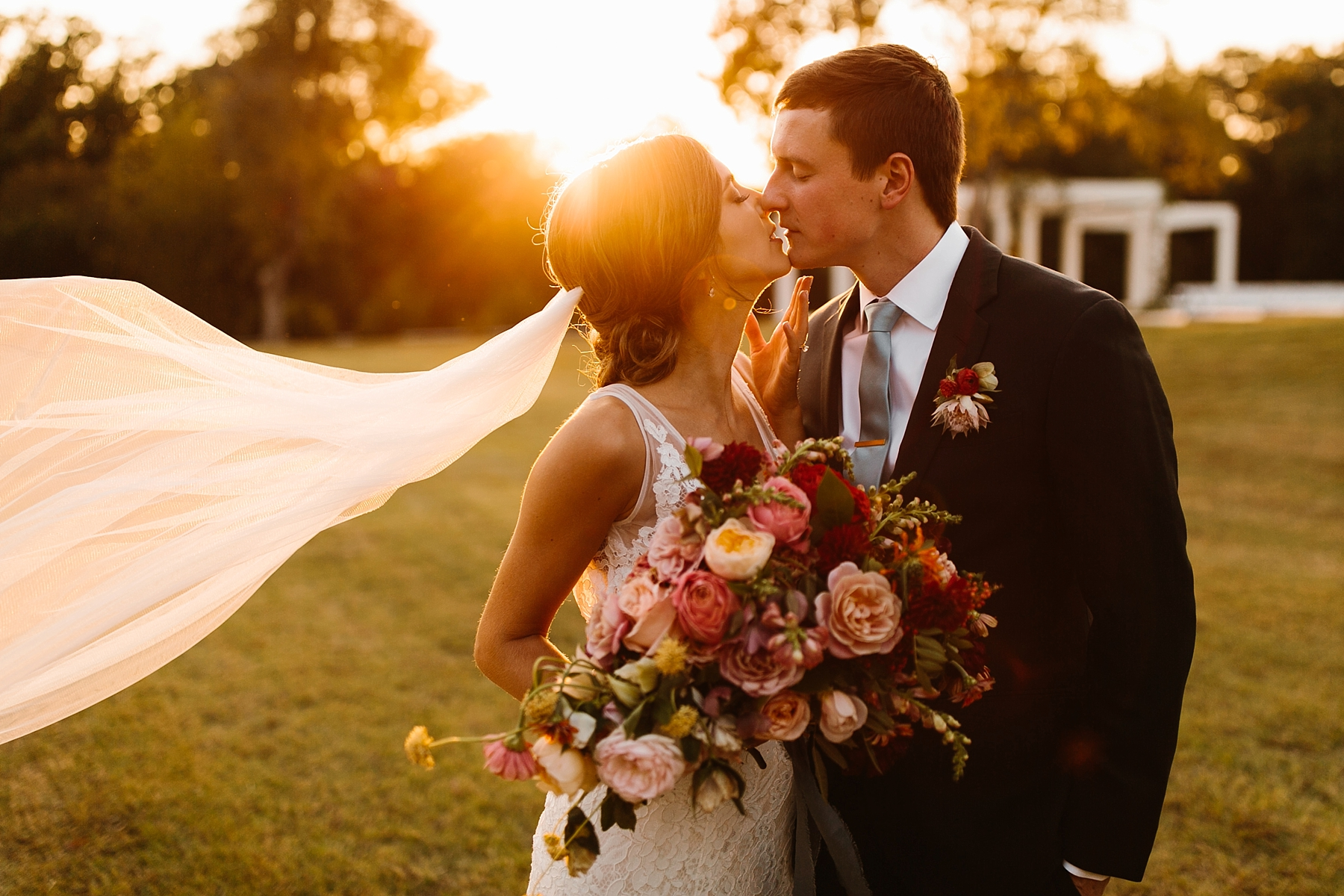 Lauren + Nathan _ a vibrant, wedding with a Navy, Red, and Duck Egg Blue Pallete at Firefly Gardens by North Texas Wedding Photographer Rachel Meagan Photography _ 101