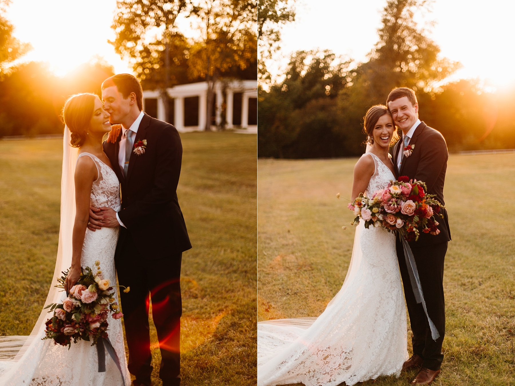 Lauren + Nathan _ a vibrant, wedding with a Navy, Red, and Duck Egg Blue Pallete at Firefly Gardens by North Texas Wedding Photographer Rachel Meagan Photography _ 103