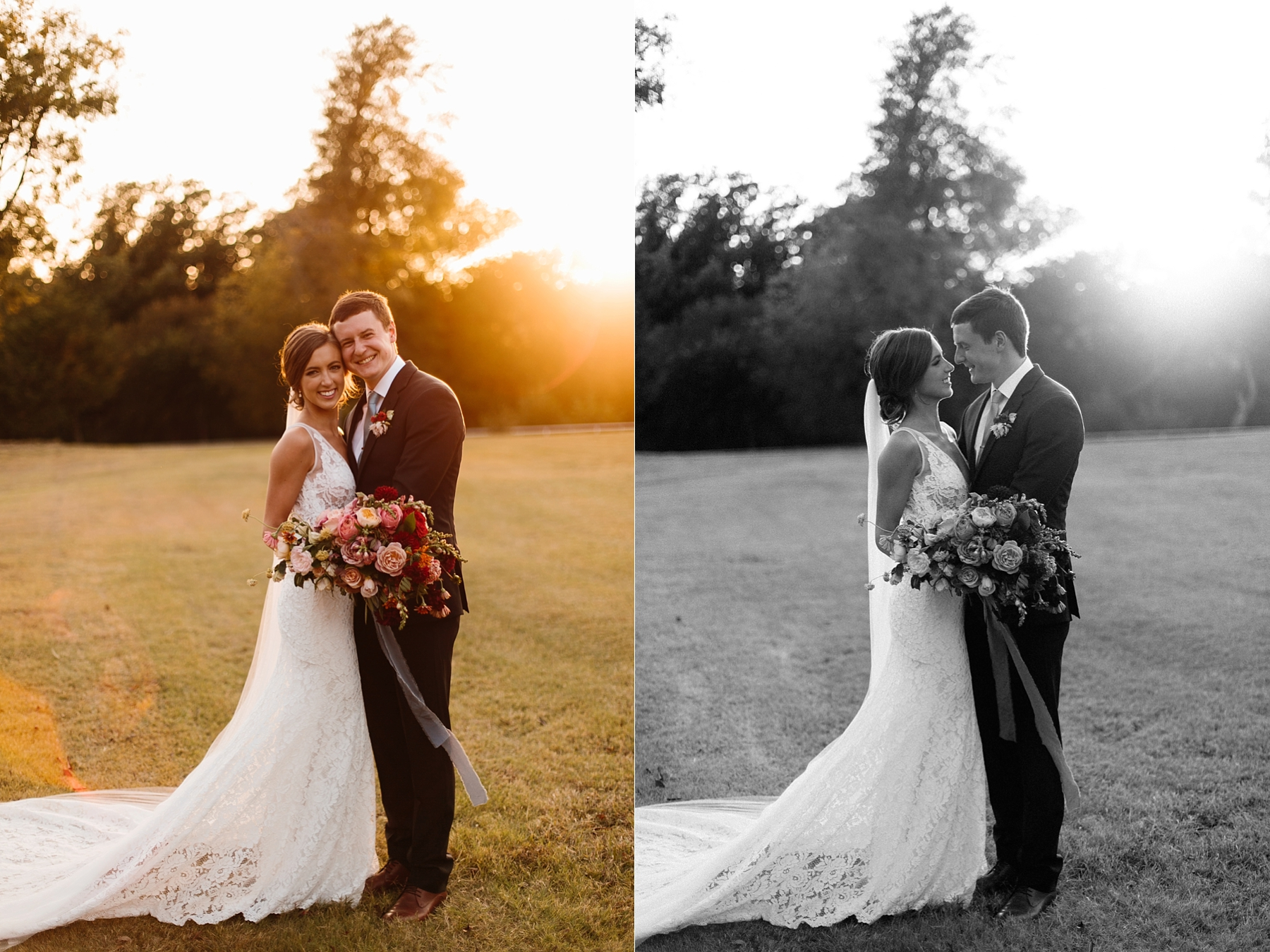 Lauren + Nathan _ a vibrant, wedding with a Navy, Red, and Duck Egg Blue Pallete at Firefly Gardens by North Texas Wedding Photographer Rachel Meagan Photography _ 105