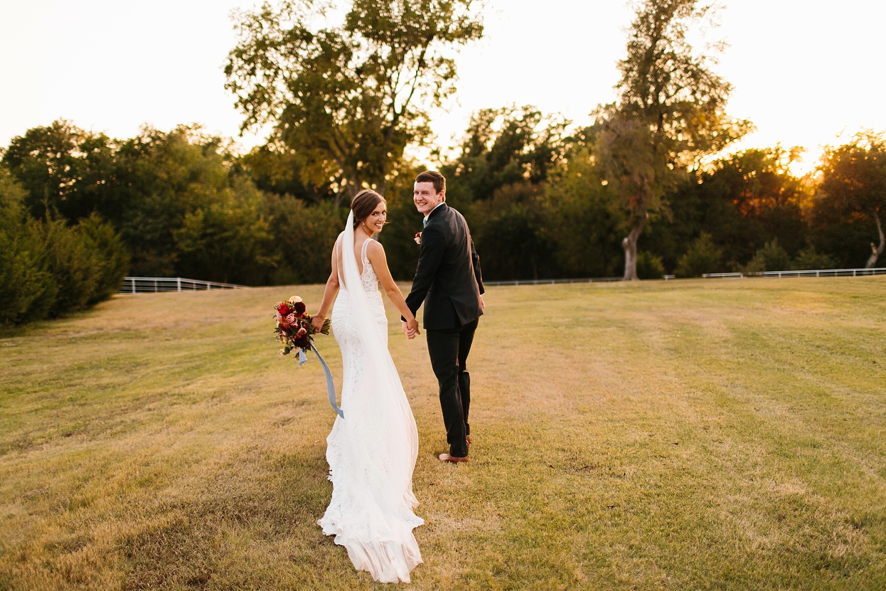 Lauren + Nathan _ a vibrant, wedding with a Navy, Red, and Duck Egg Blue Pallete at Firefly Gardens by North Texas Wedding Photographer Rachel Meagan Photography _ 117