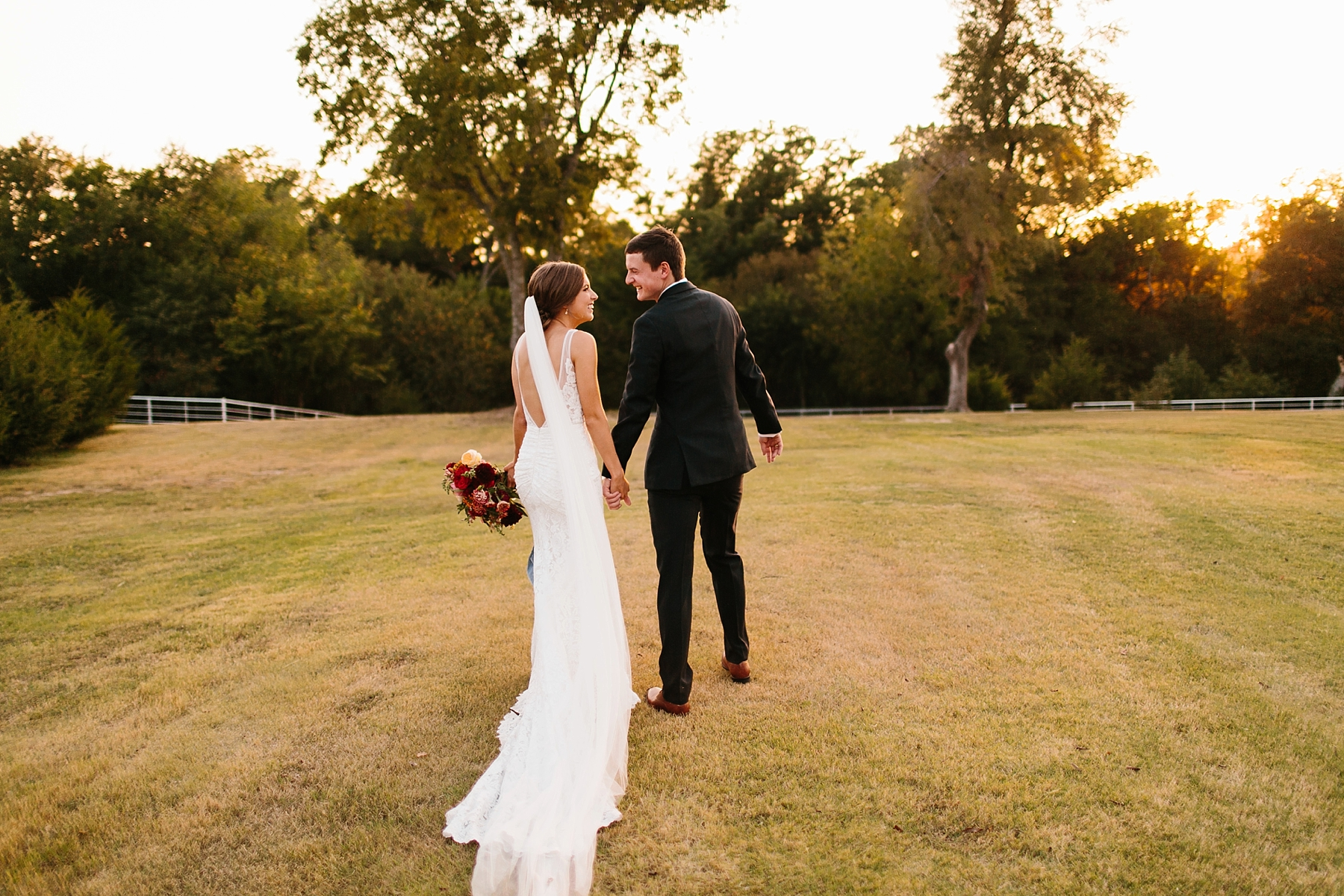 Lauren + Nathan _ a vibrant, wedding with a Navy, Red, and Duck Egg Blue Pallete at Firefly Gardens by North Texas Wedding Photographer Rachel Meagan Photography _ 118