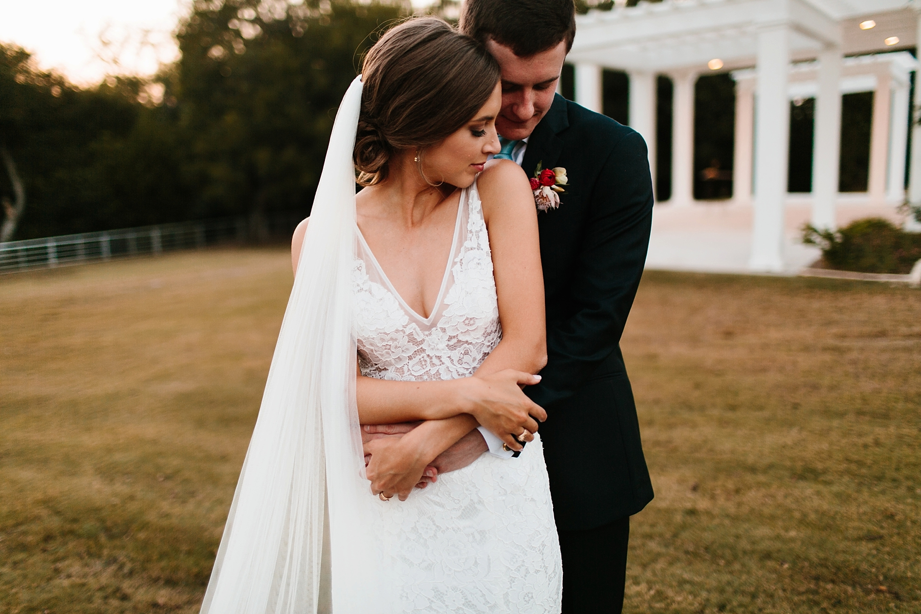 Lauren + Nathan _ a vibrant, wedding with a Navy, Red, and Duck Egg Blue Pallete at Firefly Gardens by North Texas Wedding Photographer Rachel Meagan Photography _ 128