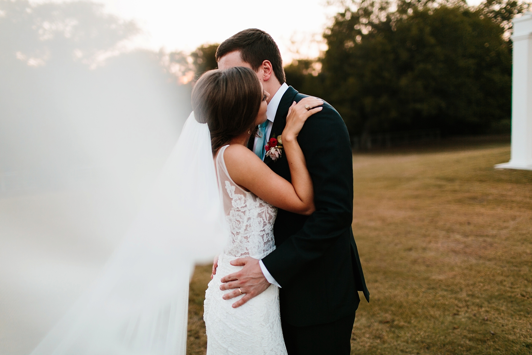 Lauren + Nathan _ a vibrant, wedding with a Navy, Red, and Duck Egg Blue Pallete at Firefly Gardens by North Texas Wedding Photographer Rachel Meagan Photography _ 130