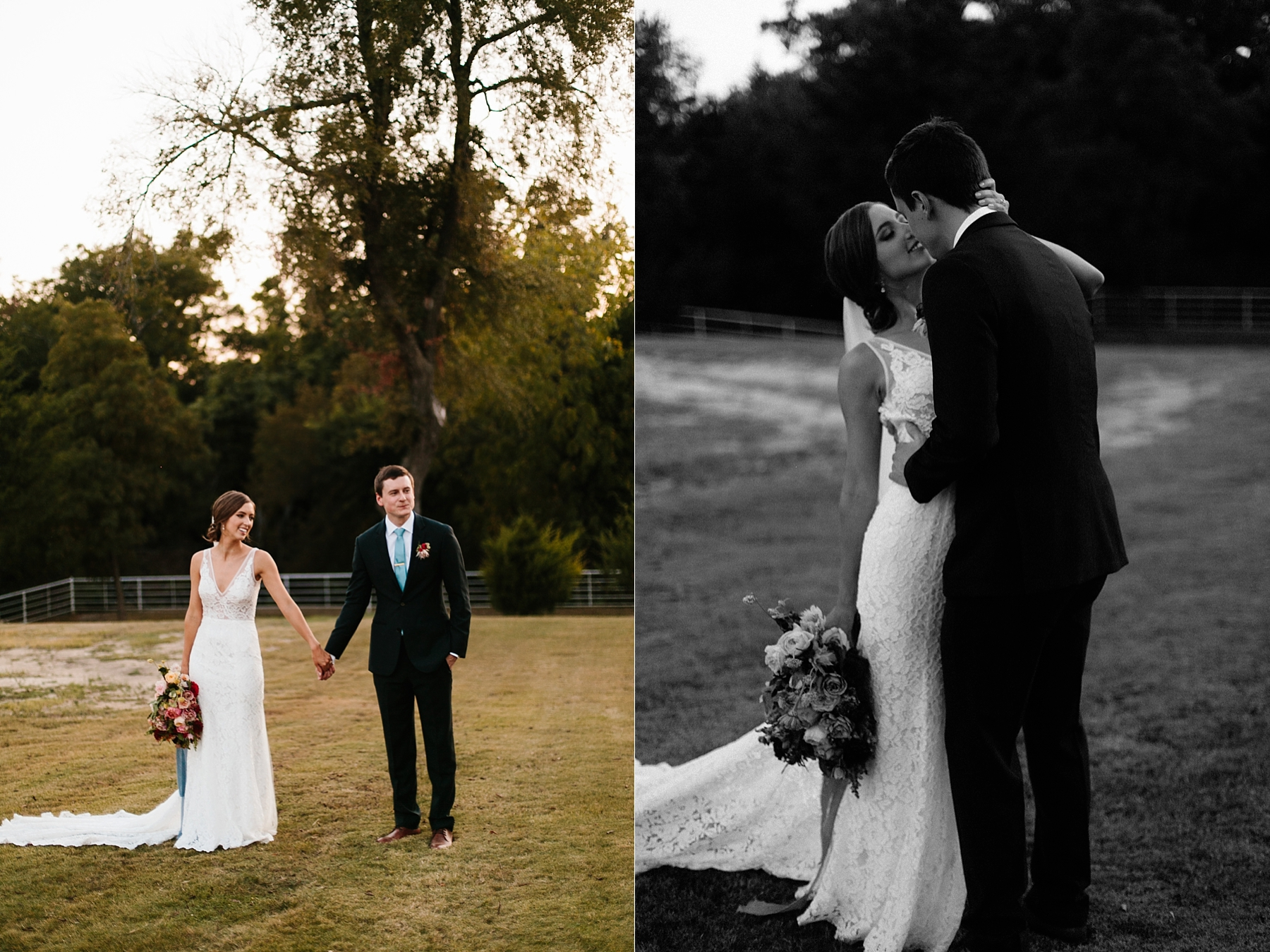 Lauren + Nathan _ a vibrant, wedding with a Navy, Red, and Duck Egg Blue Pallete at Firefly Gardens by North Texas Wedding Photographer Rachel Meagan Photography _ 138