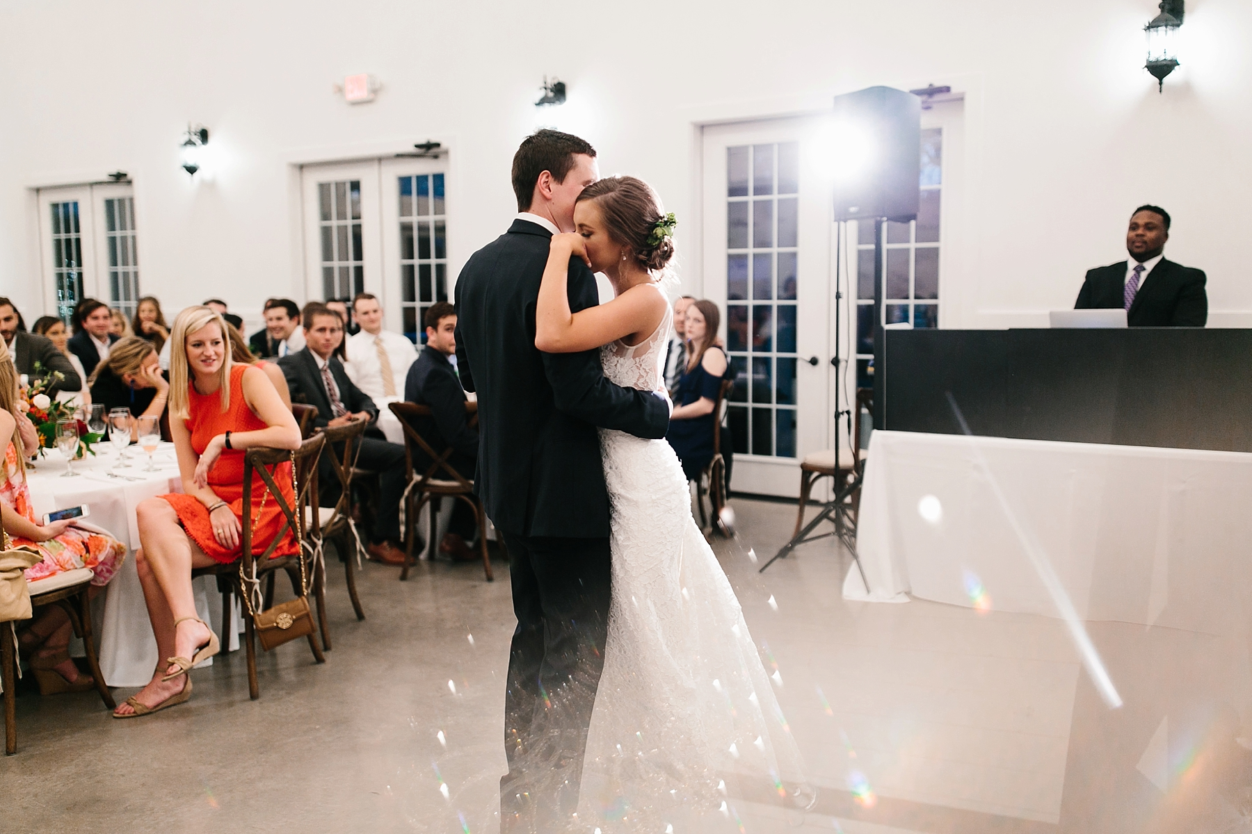 Lauren + Nathan _ a vibrant, wedding with a Navy, Red, and Duck Egg Blue Pallete at Firefly Gardens by North Texas Wedding Photographer Rachel Meagan Photography _ 150