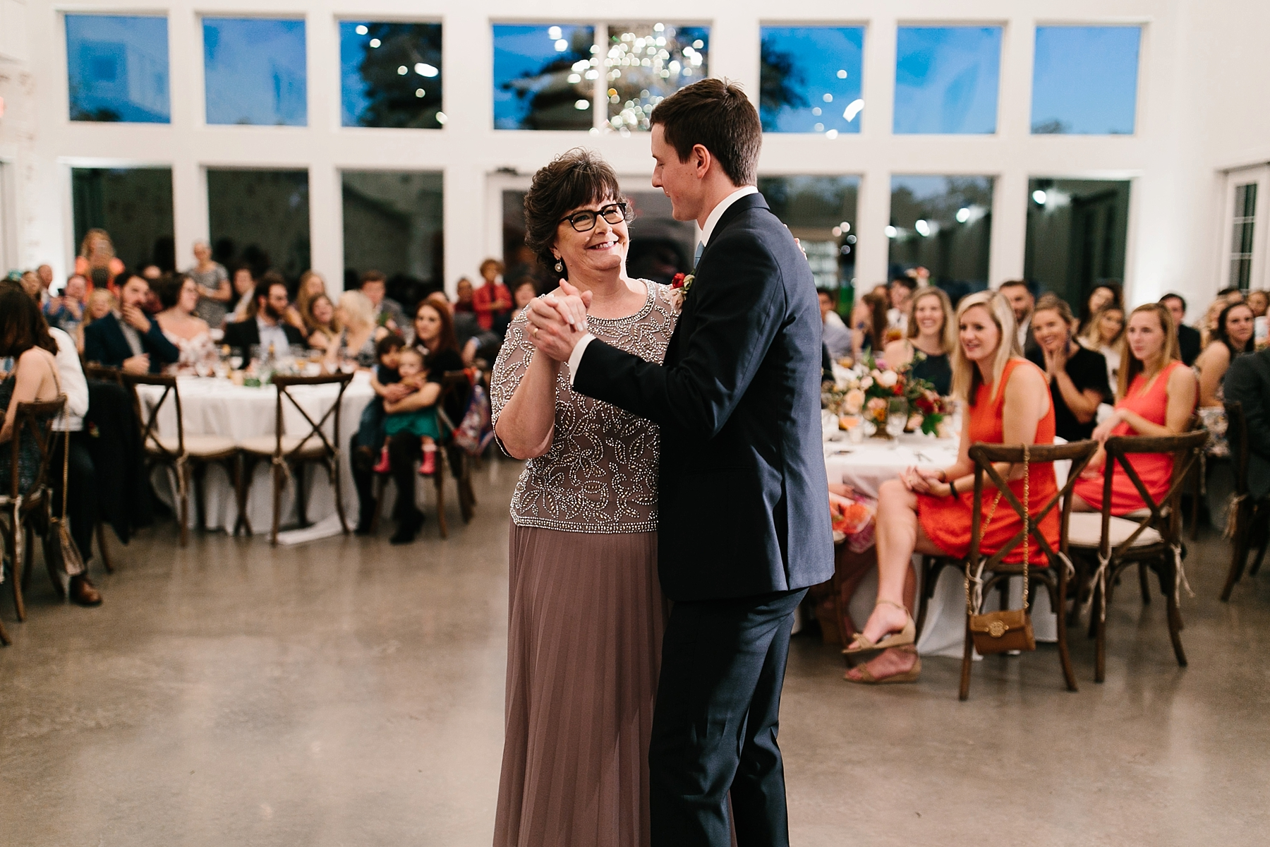 Lauren + Nathan _ a vibrant, wedding with a Navy, Red, and Duck Egg Blue Pallete at Firefly Gardens by North Texas Wedding Photographer Rachel Meagan Photography _ 157