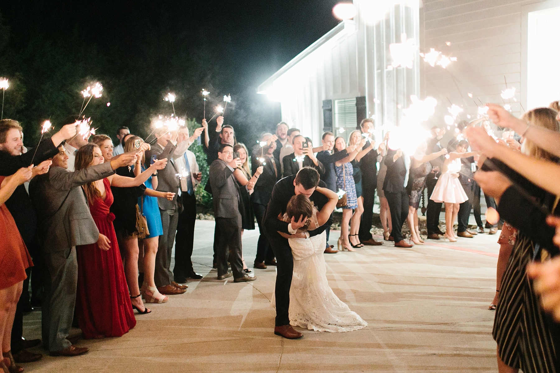 Lauren + Nathan _ a vibrant, wedding with a Navy, Red, and Duck Egg Blue Pallete at Firefly Gardens by North Texas Wedding Photographer Rachel Meagan Photography _ 172