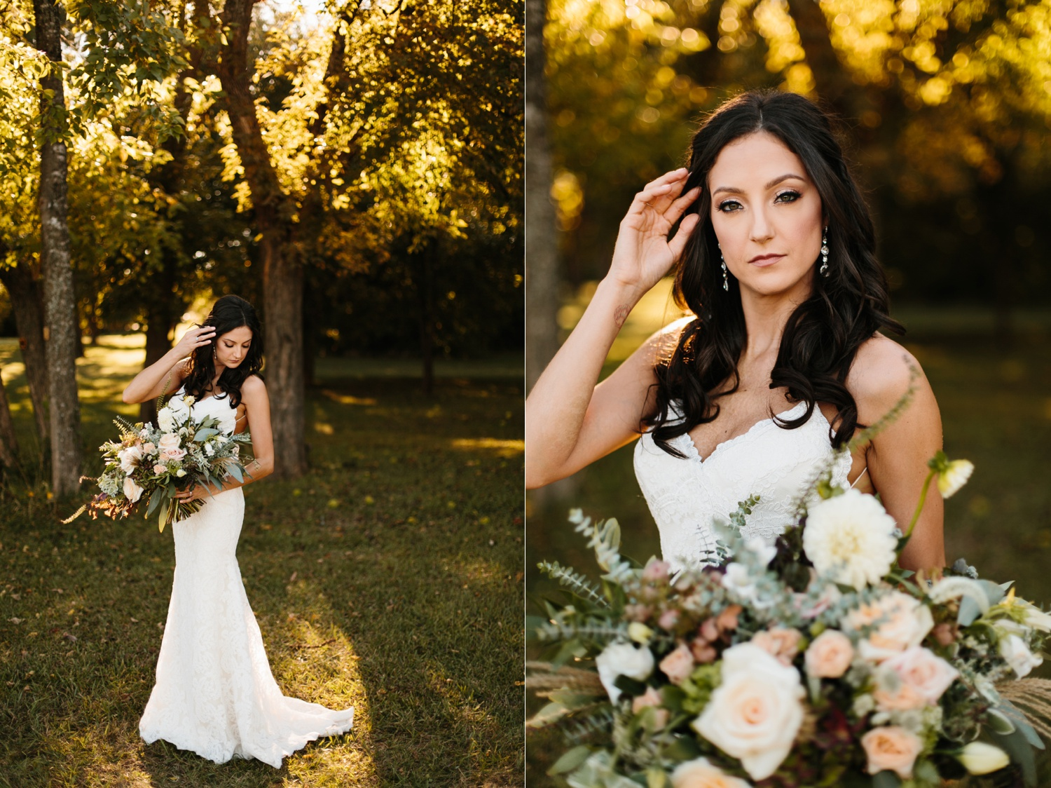 Erica + Henry | a bohemian inspired wedding at Chandlers Gardens in Salina, TX by North Texas Wedding Photographer Rachel Meagan Photography 059