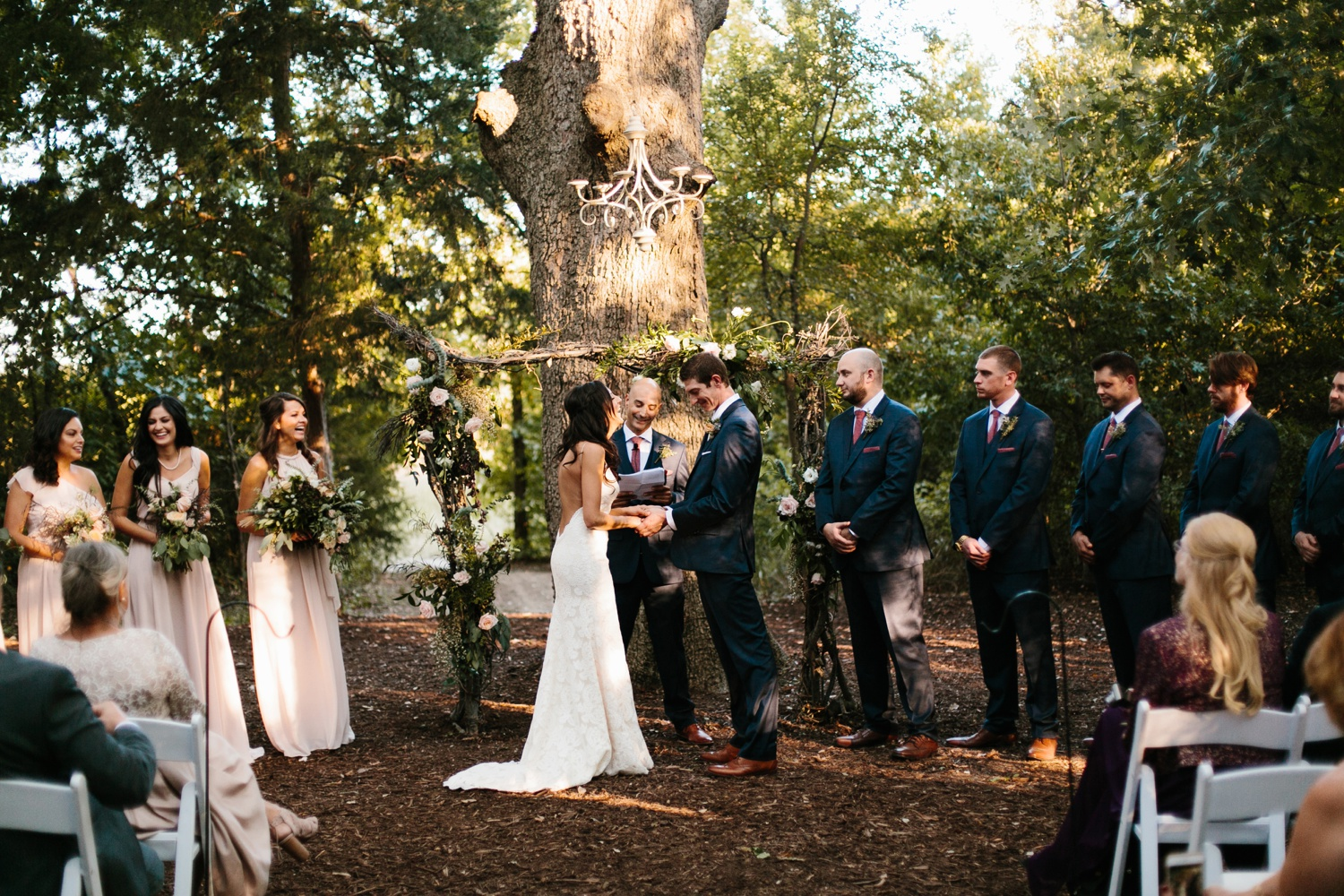 Erica + Henry | a bohemian inspired wedding at Chandlers Gardens in Salina, TX by North Texas Wedding Photographer Rachel Meagan Photography 076