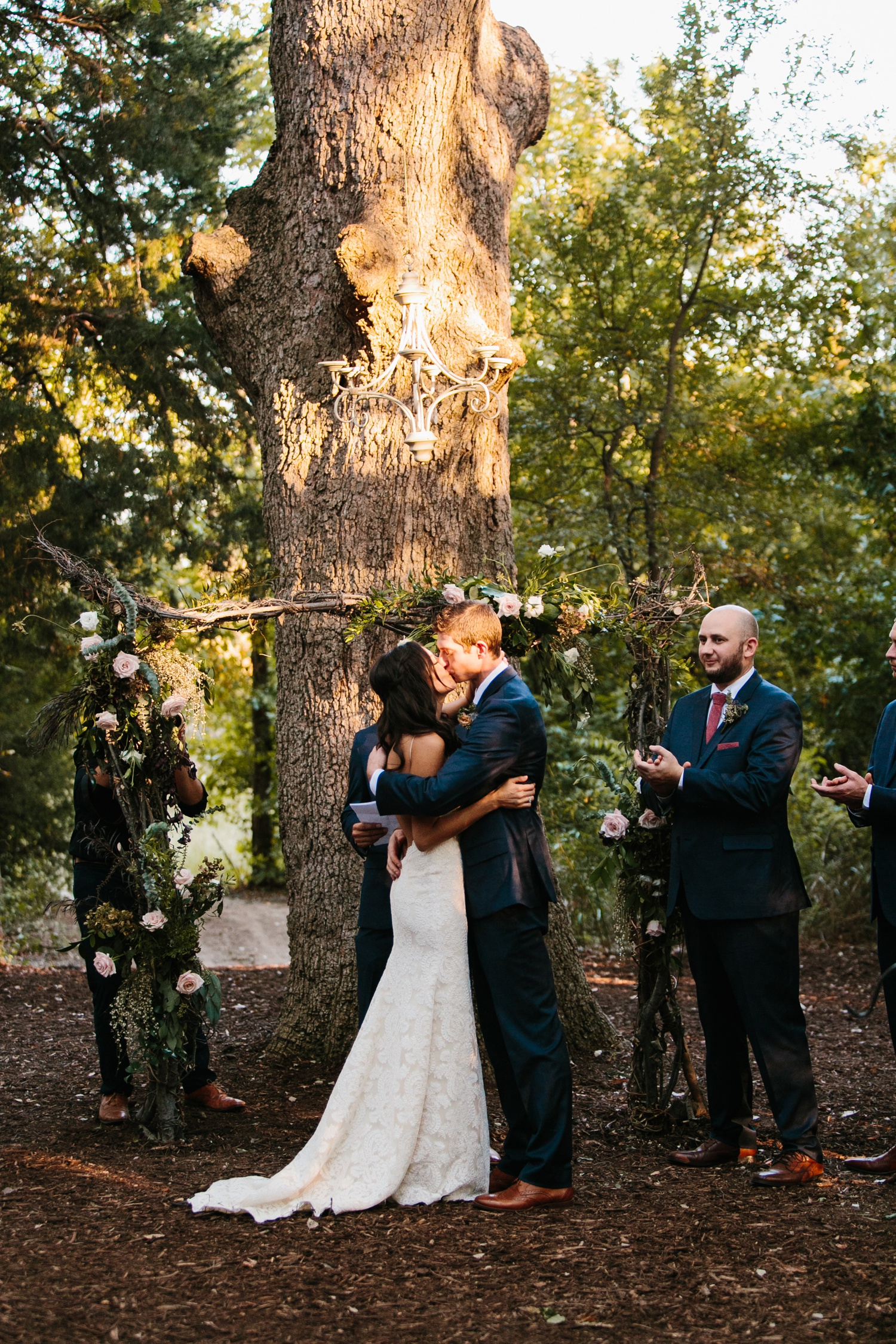 Erica + Henry | a bohemian inspired wedding at Chandlers Gardens in Salina, TX by North Texas Wedding Photographer Rachel Meagan Photography 093