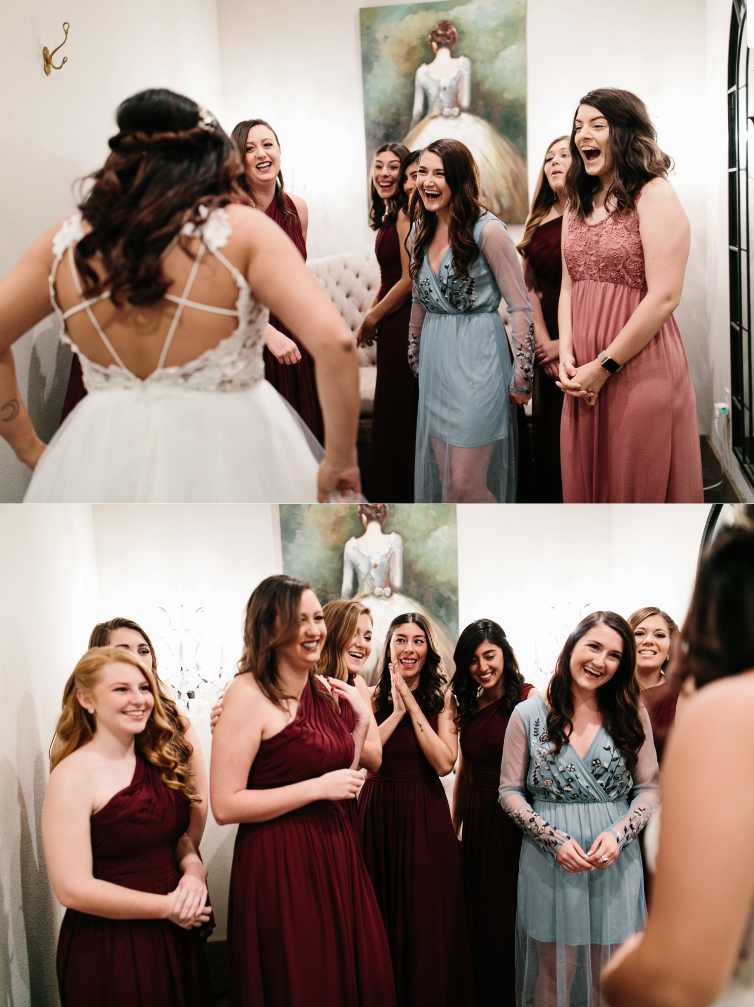 Grant + Lysette | a vibrant, deep burgundy and navy, and mixed metals wedding at Hidden Pines Chapel by North Texas Wedding Photographer Rachel Meagan Photography 018