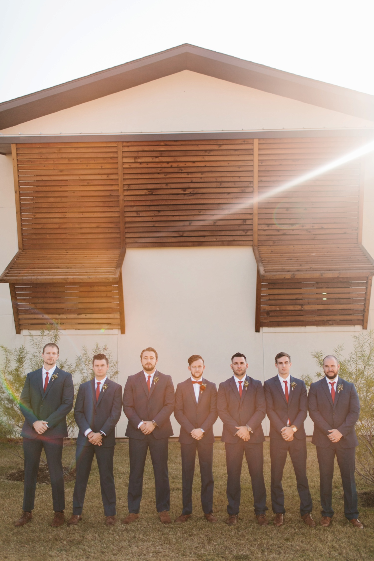 Grant + Lysette | a vibrant, deep burgundy and navy, and mixed metals wedding at Hidden Pines Chapel by North Texas Wedding Photographer Rachel Meagan Photography 023