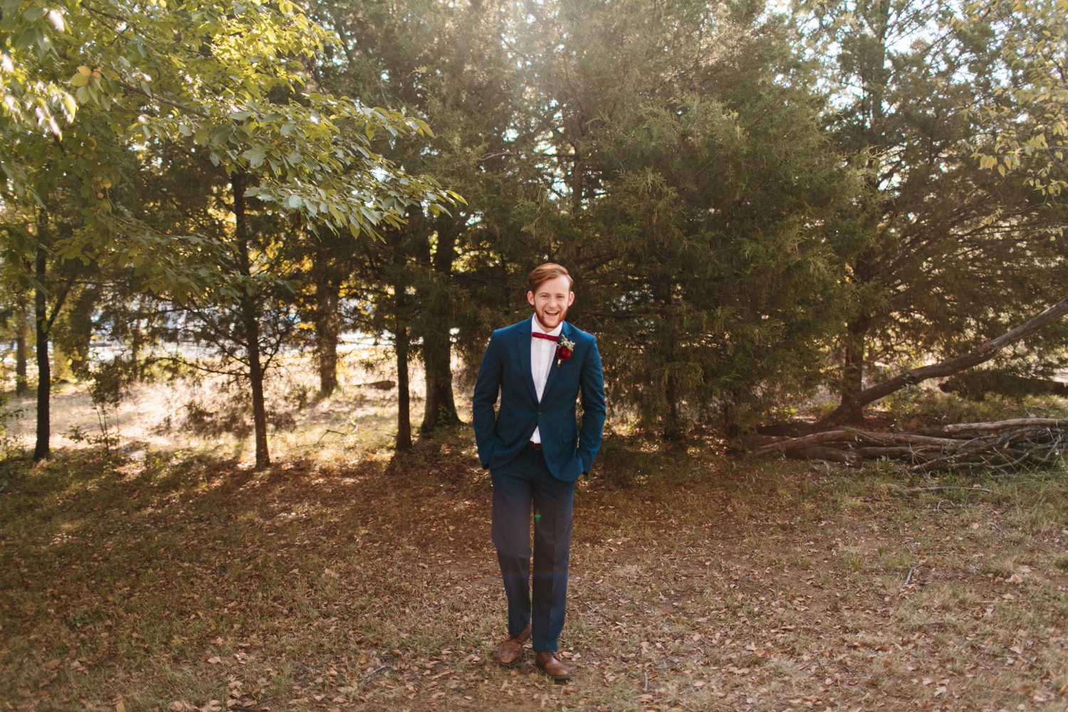 Grant + Lysette | a vibrant, deep burgundy and navy, and mixed metals wedding at Hidden Pines Chapel by North Texas Wedding Photographer Rachel Meagan Photography 031