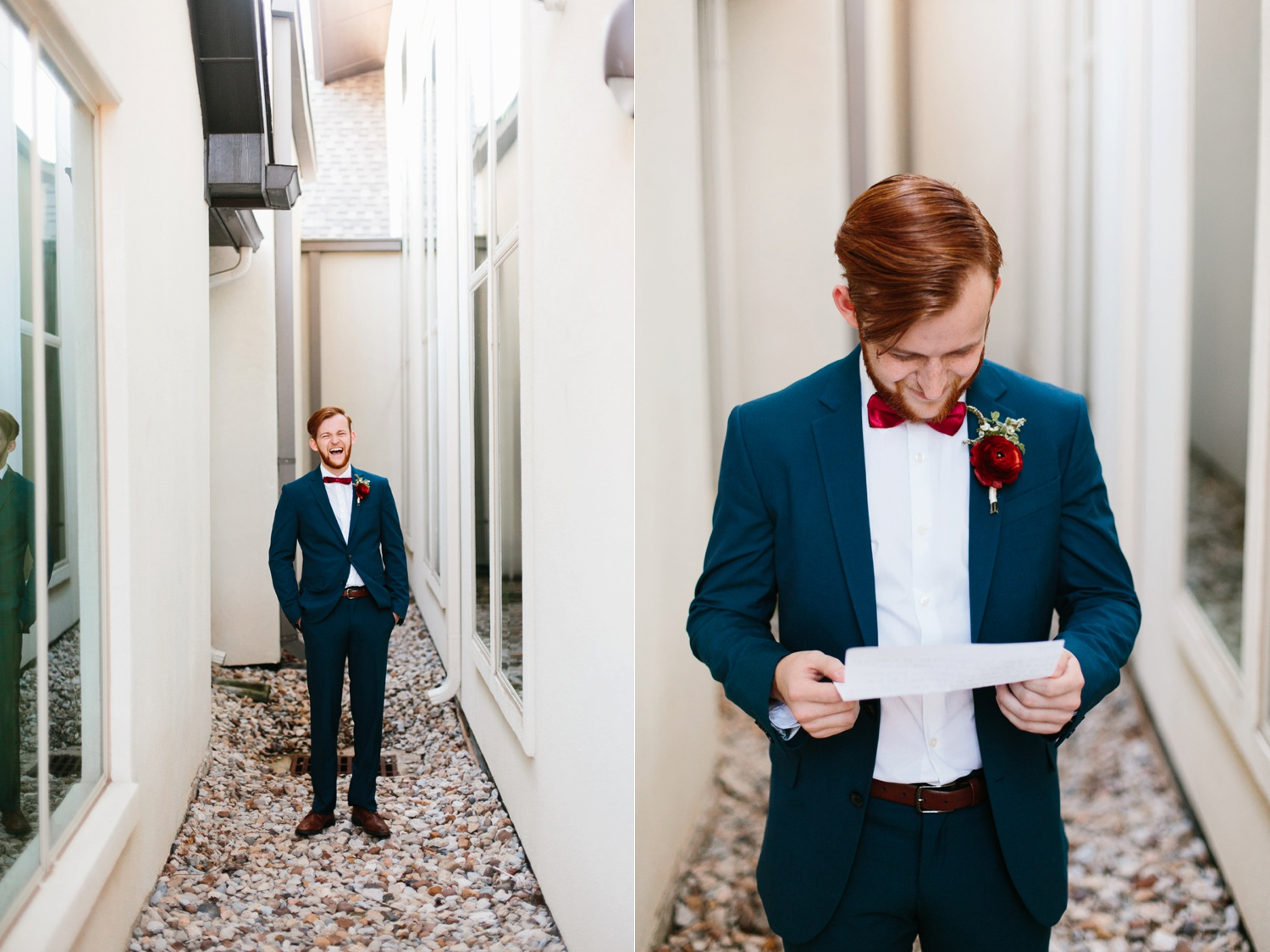 Grant + Lysette | a vibrant, deep burgundy and navy, and mixed metals wedding at Hidden Pines Chapel by North Texas Wedding Photographer Rachel Meagan Photography 034