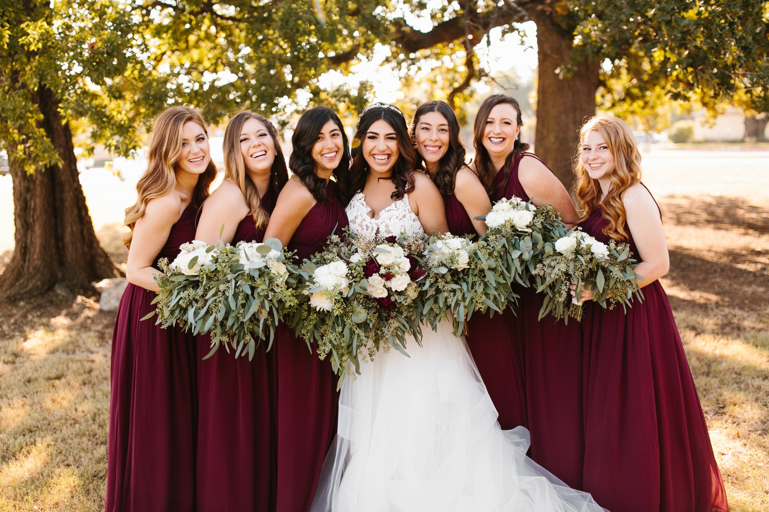 Grant + Lysette | a vibrant, deep burgundy and navy, and mixed metals wedding at Hidden Pines Chapel by North Texas Wedding Photographer Rachel Meagan Photography 036