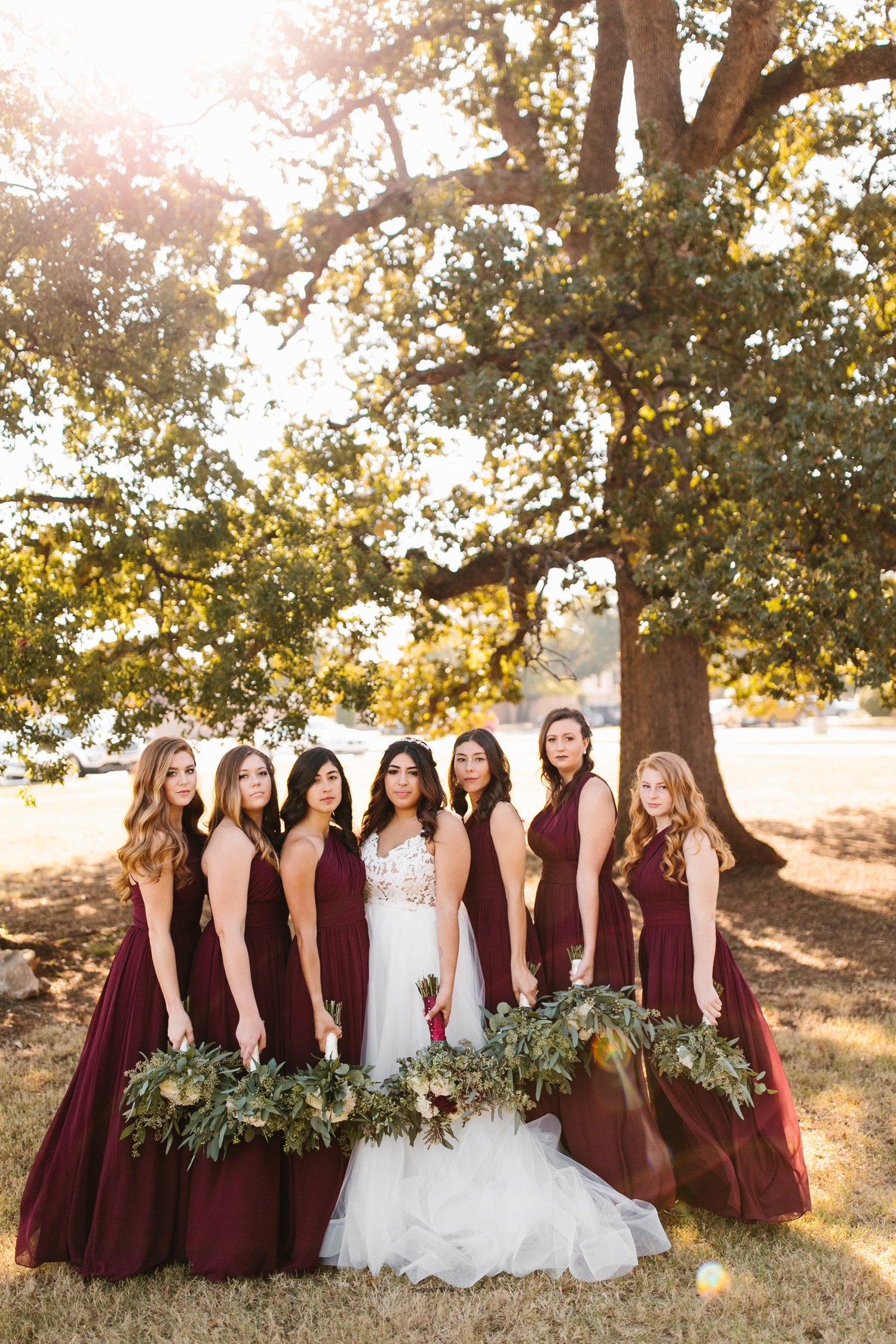 Grant + Lysette | a vibrant, deep burgundy and navy, and mixed metals wedding at Hidden Pines Chapel by North Texas Wedding Photographer Rachel Meagan Photography 037
