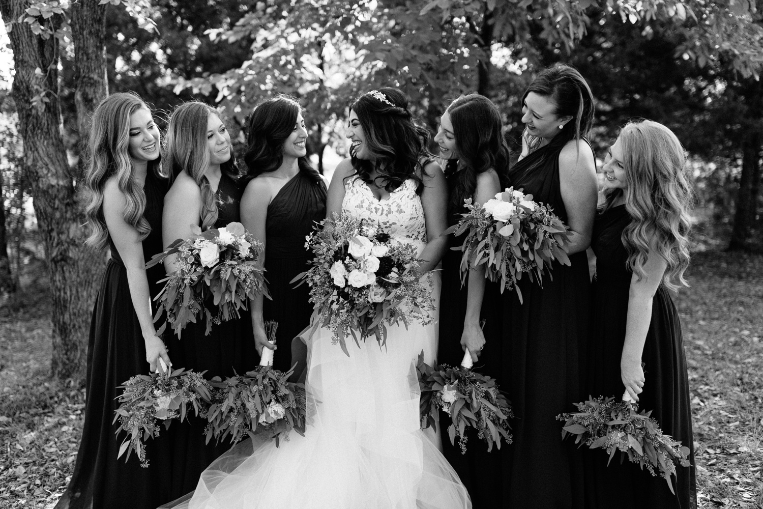 Grant + Lysette | a vibrant, deep burgundy and navy, and mixed metals wedding at Hidden Pines Chapel by North Texas Wedding Photographer Rachel Meagan Photography 039