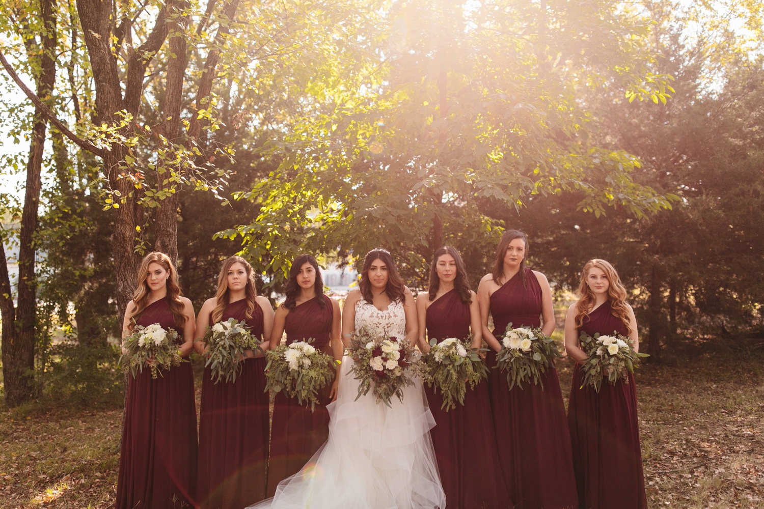 Grant + Lysette | a vibrant, deep burgundy and navy, and mixed metals wedding at Hidden Pines Chapel by North Texas Wedding Photographer Rachel Meagan Photography 041