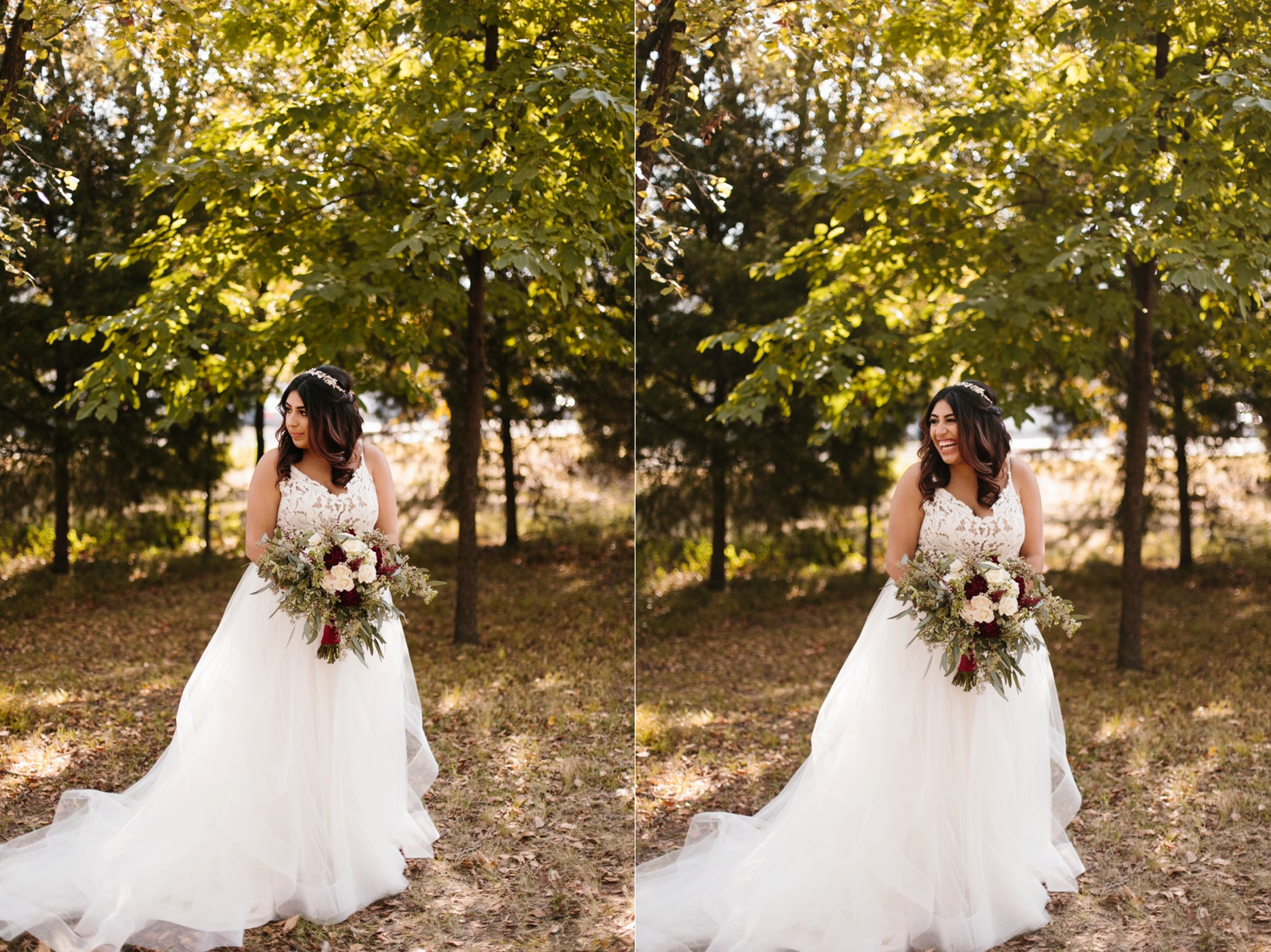 Grant + Lysette | a vibrant, deep burgundy and navy, and mixed metals wedding at Hidden Pines Chapel by North Texas Wedding Photographer Rachel Meagan Photography 046