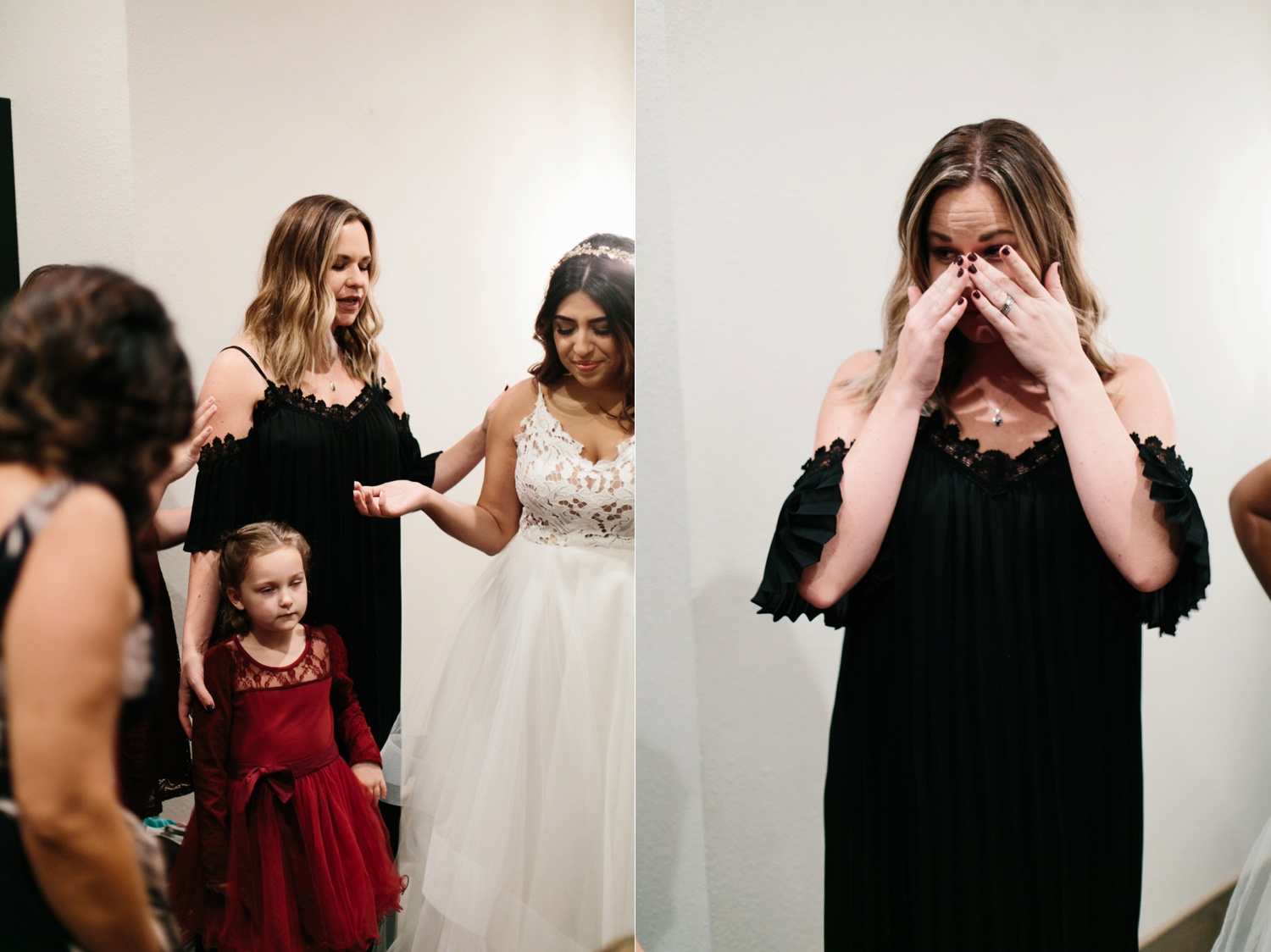 Grant + Lysette | a vibrant, deep burgundy and navy, and mixed metals wedding at Hidden Pines Chapel by North Texas Wedding Photographer Rachel Meagan Photography 052