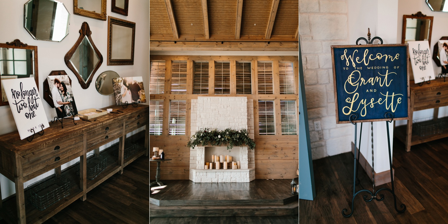 Grant + Lysette | a vibrant, deep burgundy and navy, and mixed metals wedding at Hidden Pines Chapel by North Texas Wedding Photographer Rachel Meagan Photography 054