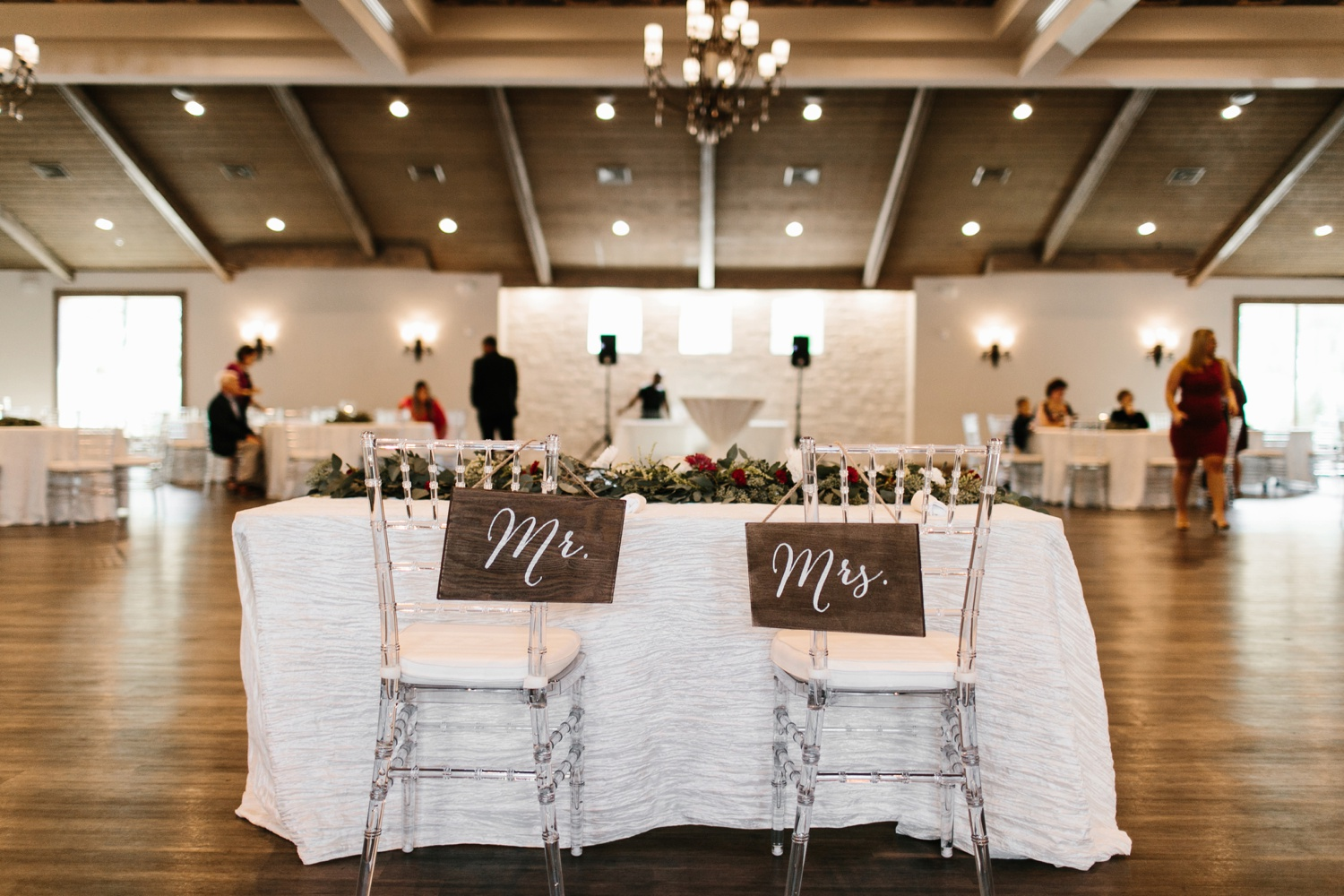 Grant + Lysette | a vibrant, deep burgundy and navy, and mixed metals wedding at Hidden Pines Chapel by North Texas Wedding Photographer Rachel Meagan Photography 055