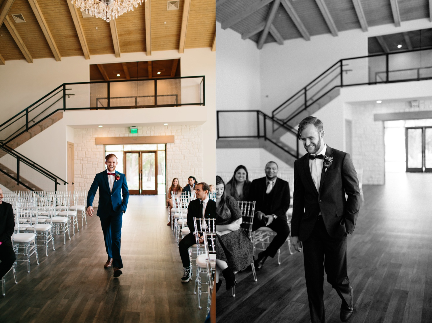Grant + Lysette | a vibrant, deep burgundy and navy, and mixed metals wedding at Hidden Pines Chapel by North Texas Wedding Photographer Rachel Meagan Photography 056