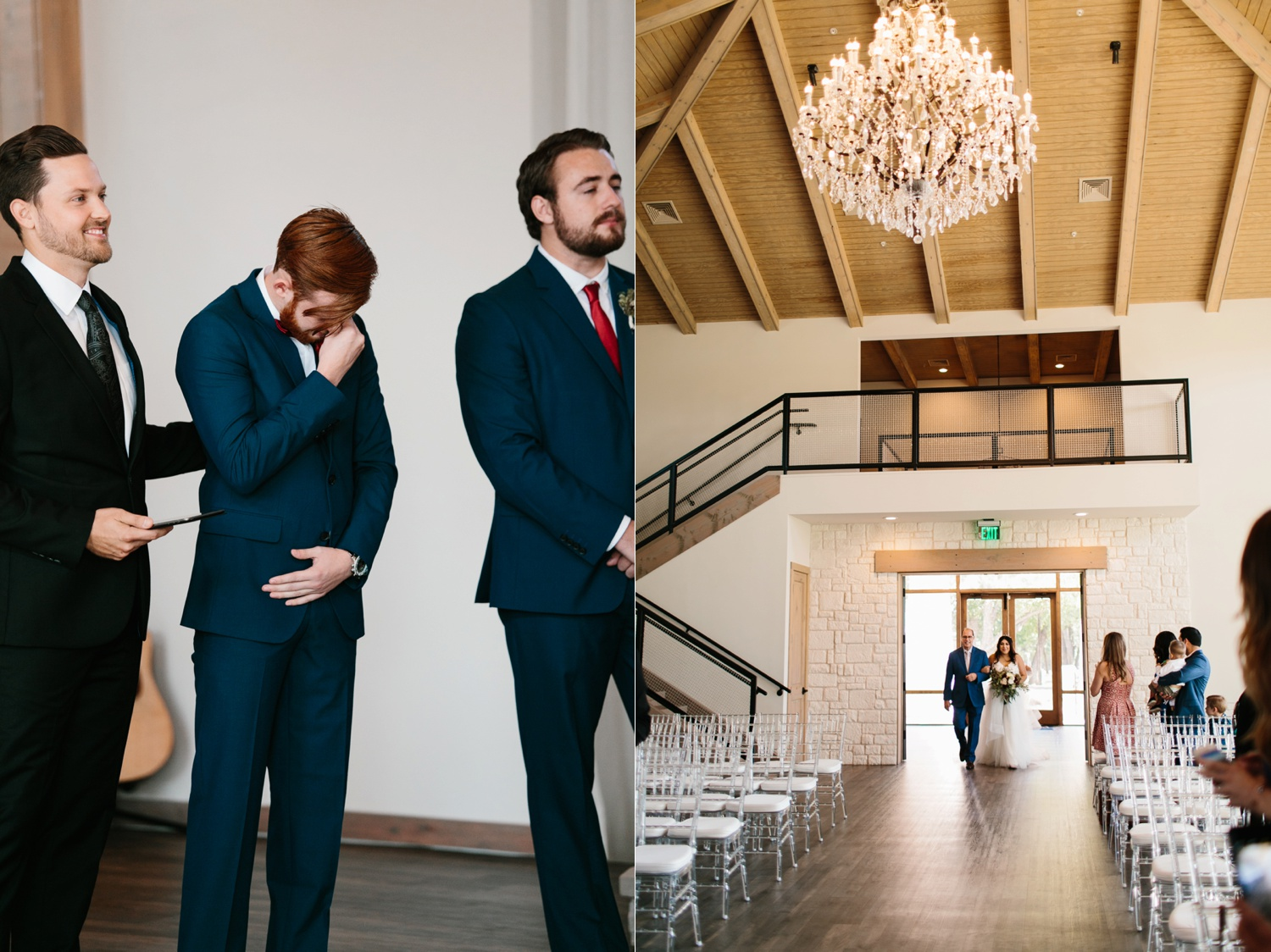 Grant + Lysette | a vibrant, deep burgundy and navy, and mixed metals wedding at Hidden Pines Chapel by North Texas Wedding Photographer Rachel Meagan Photography 060