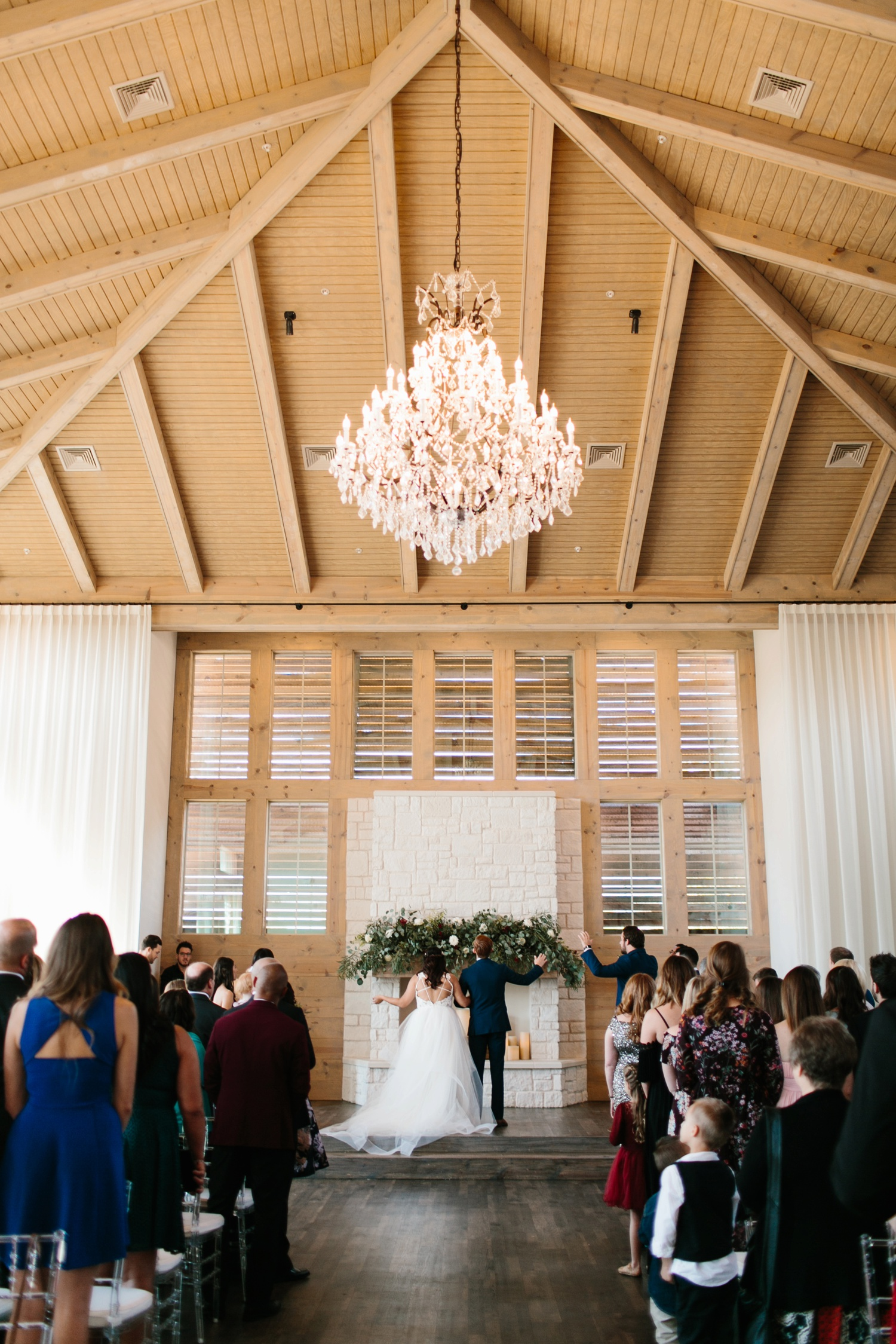 Grant + Lysette | a vibrant, deep burgundy and navy, and mixed metals wedding at Hidden Pines Chapel by North Texas Wedding Photographer Rachel Meagan Photography 071