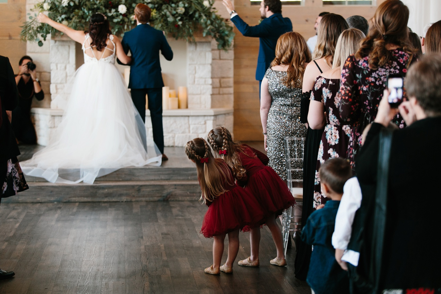 Grant + Lysette | a vibrant, deep burgundy and navy, and mixed metals wedding at Hidden Pines Chapel by North Texas Wedding Photographer Rachel Meagan Photography 074