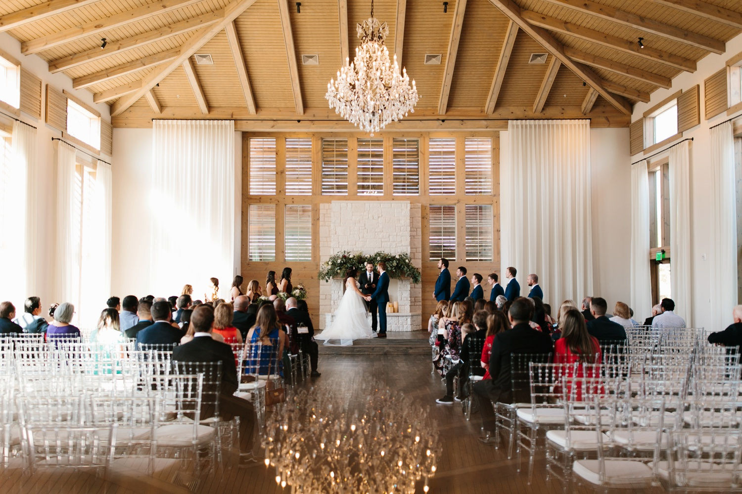 Grant + Lysette | a vibrant, deep burgundy and navy, and mixed metals wedding at Hidden Pines Chapel by North Texas Wedding Photographer Rachel Meagan Photography 083