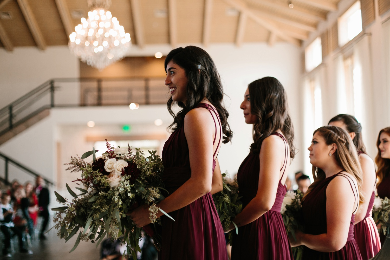 Grant + Lysette | a vibrant, deep burgundy and navy, and mixed metals wedding at Hidden Pines Chapel by North Texas Wedding Photographer Rachel Meagan Photography 094